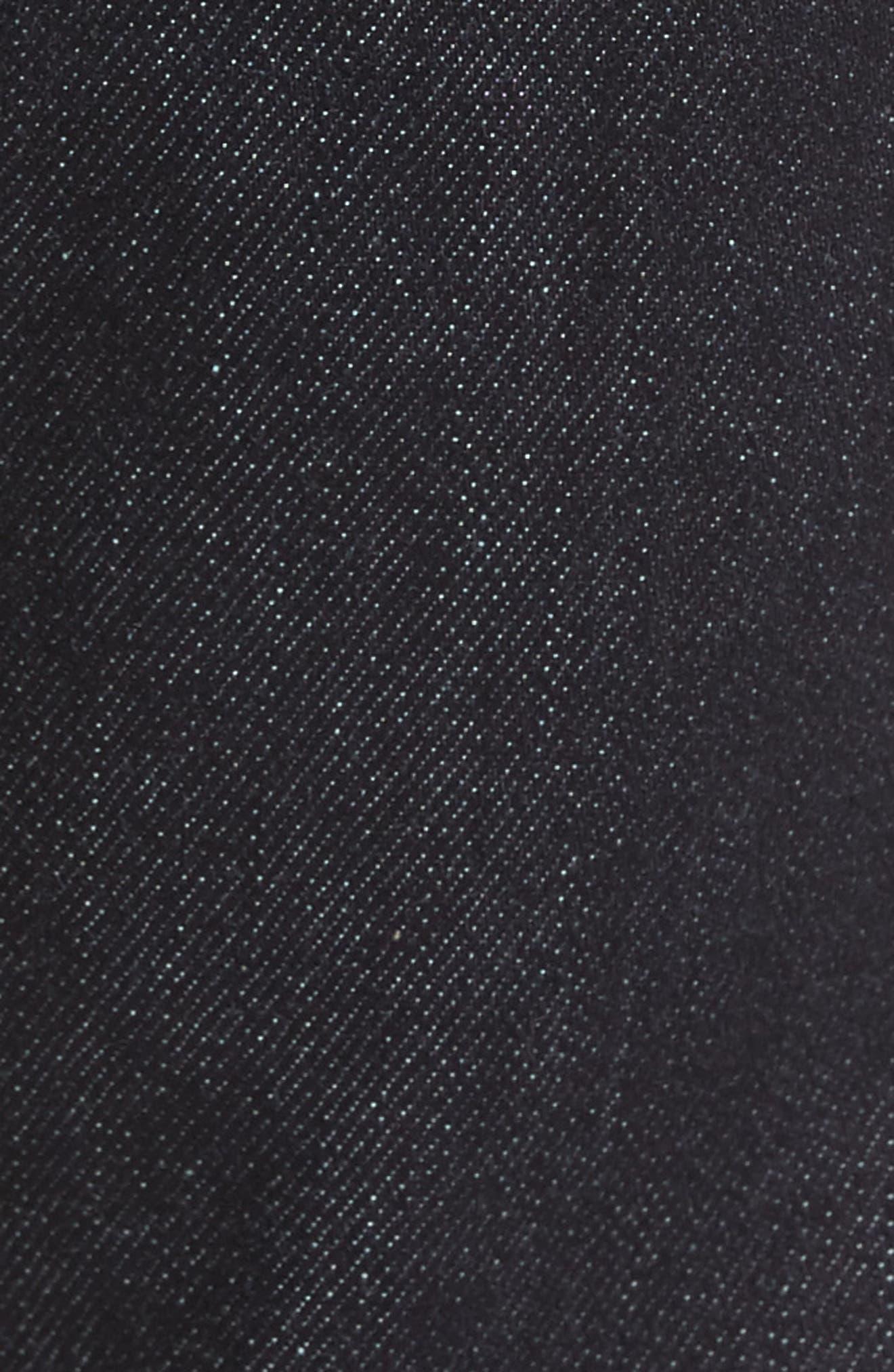 Alternate Image 5  - Mavi Jeans James Skinny Fit Jeans (Midnight Williamsburg)