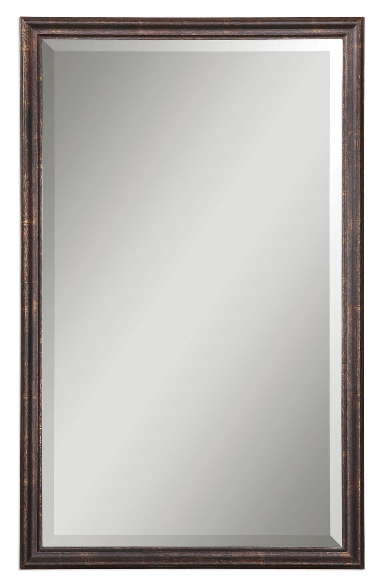 Renzo Vanity Mirror,                         Main,                         color, Metallic Rust/ Copper