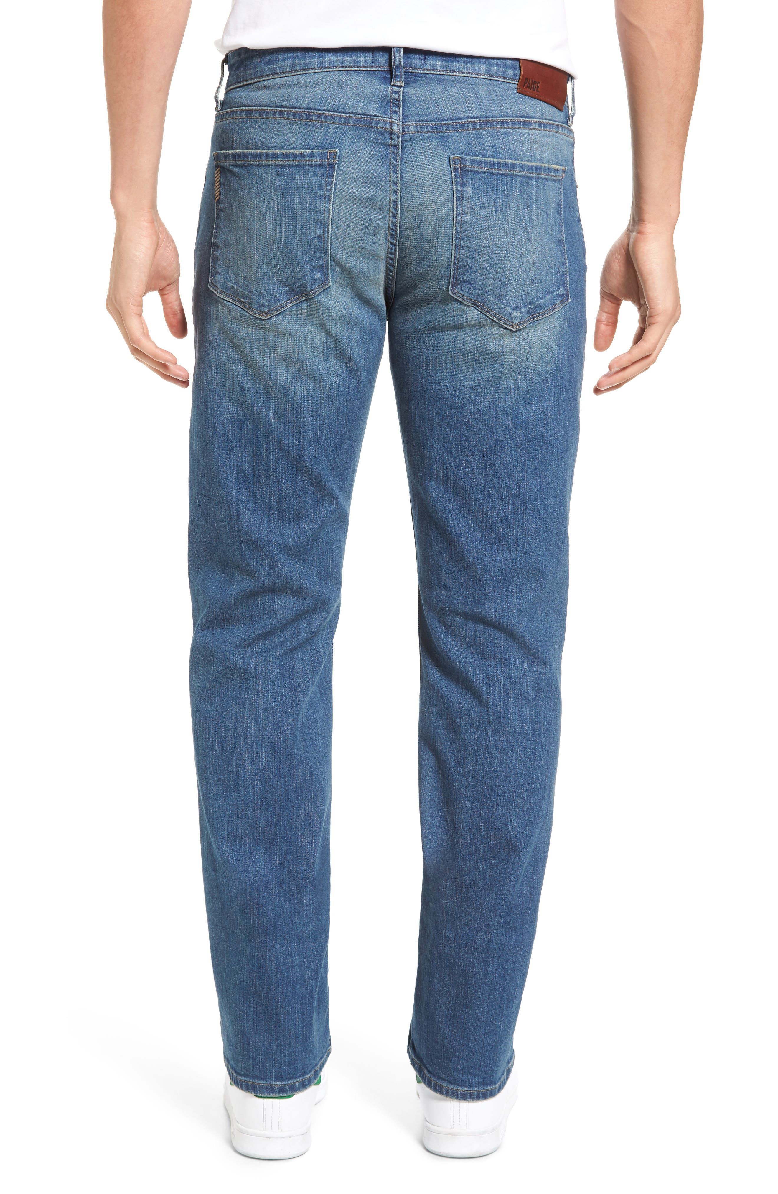Alternate Image 2  - PAIGE Legacy - Doheny Relaxed Fit Jeans (Cash)
