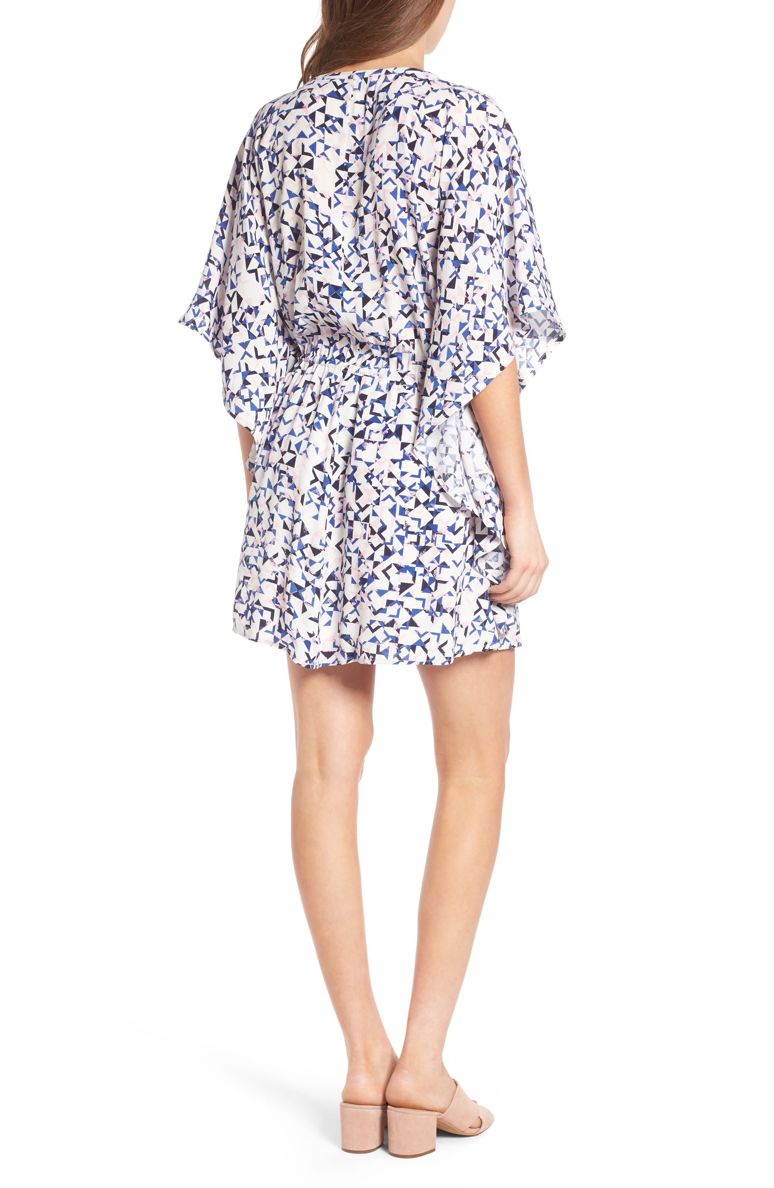 Alternate Image 2  - cupcakes and cashmere Lakeside Floral Print Minidress