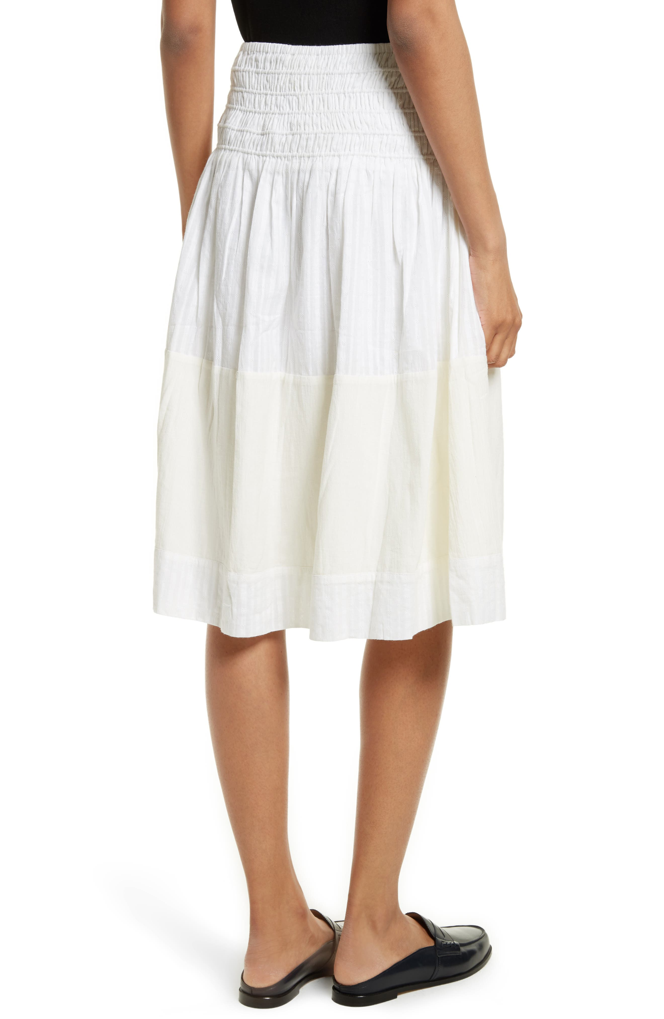 The Afternoon Skirt,                             Alternate thumbnail 3, color,                             Off White