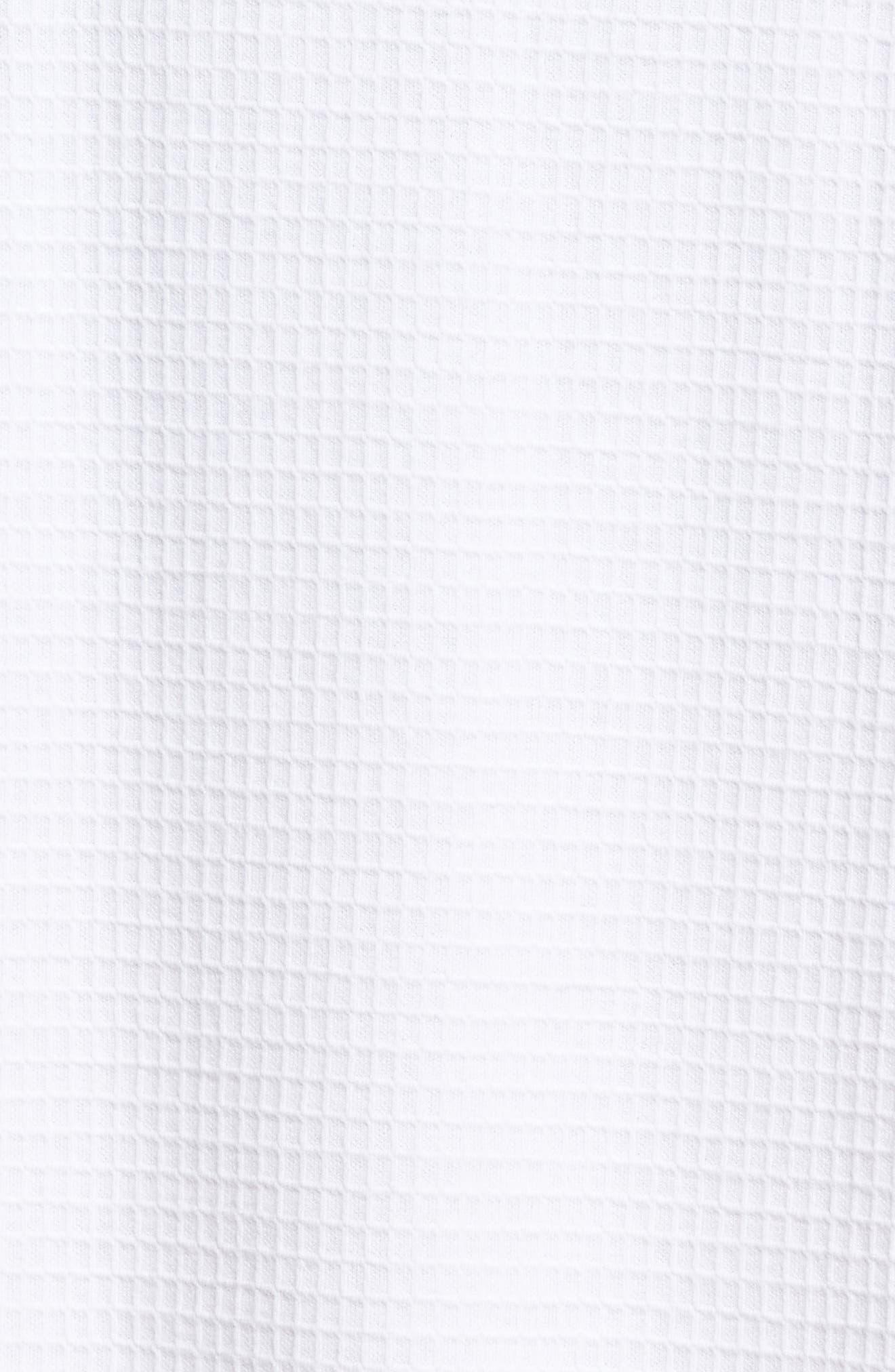 Alternate Image 5  - Majestic International Waffle Knit Robe