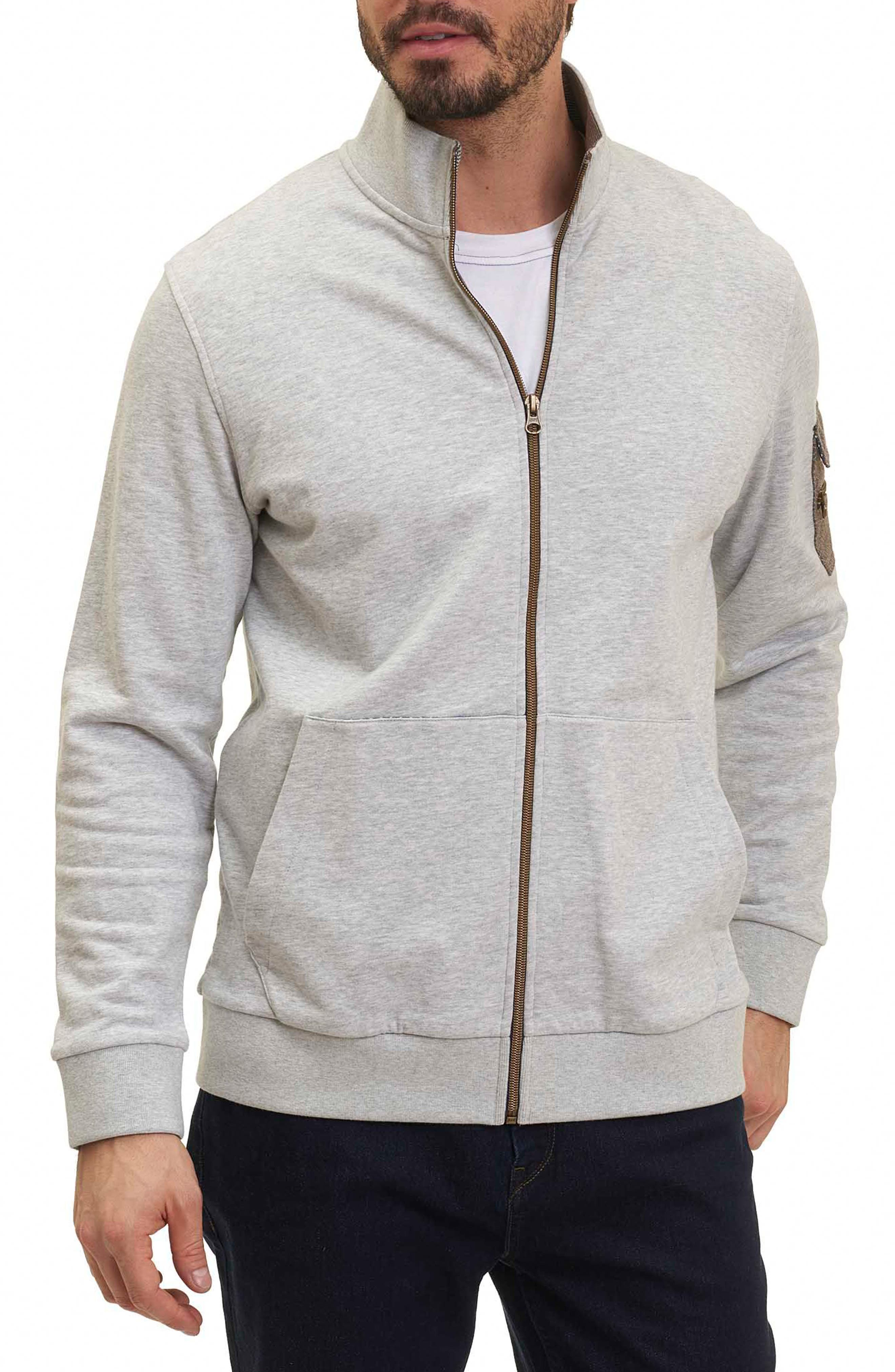 Main Image - Robert Graham Semarang French Terry Zip Jacket