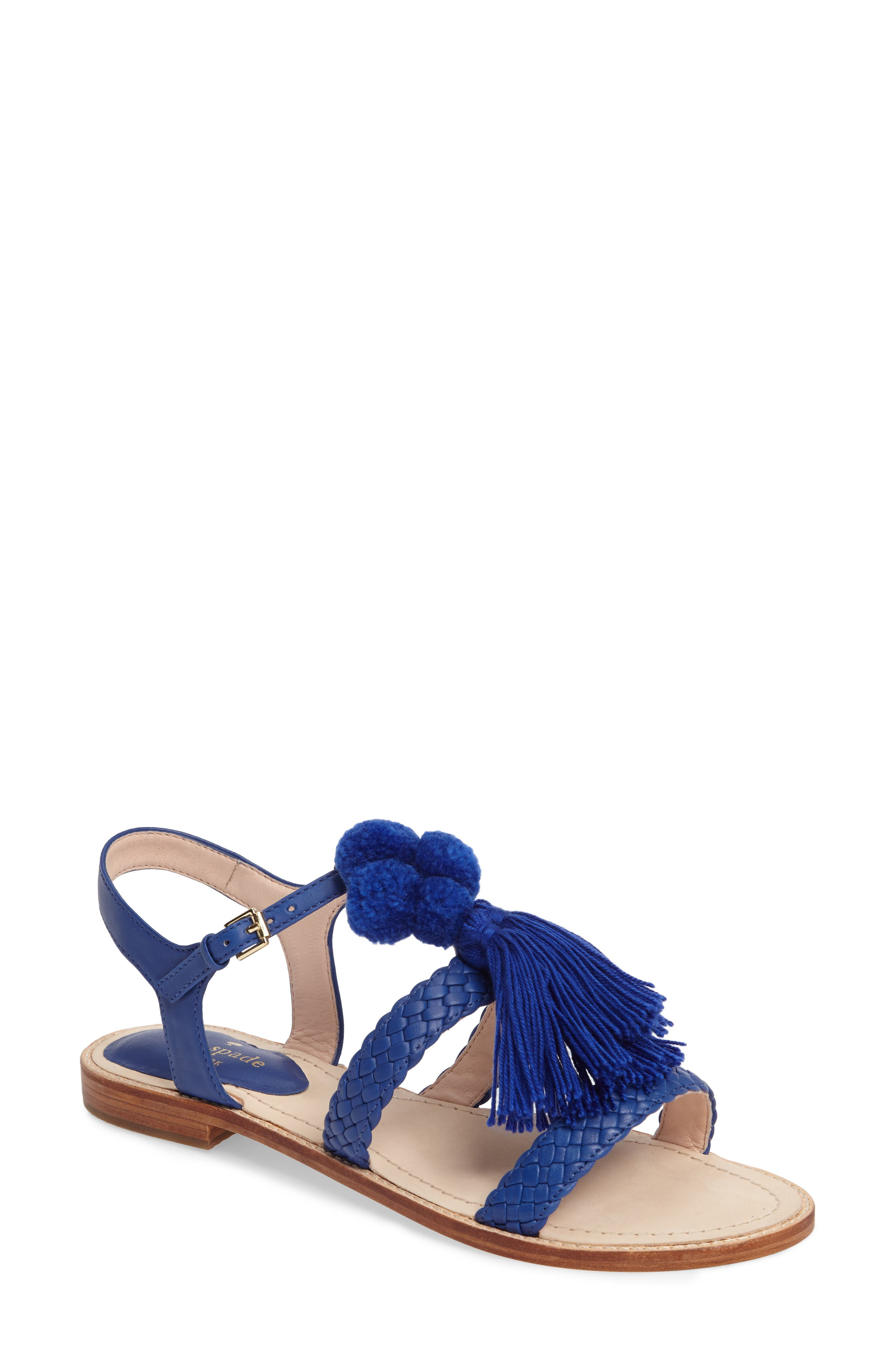 Alternate Image 1 Selected - kate spade new york sunset flat sandal (Women)