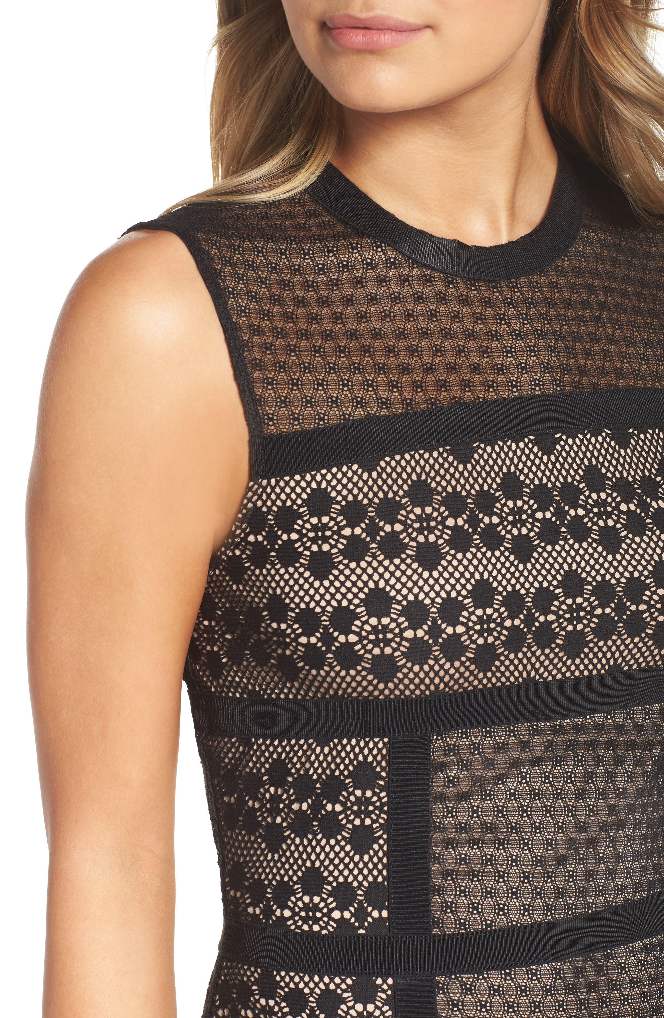 Hola Mamacita Body-Con Dress,                             Alternate thumbnail 5, color,                             Black