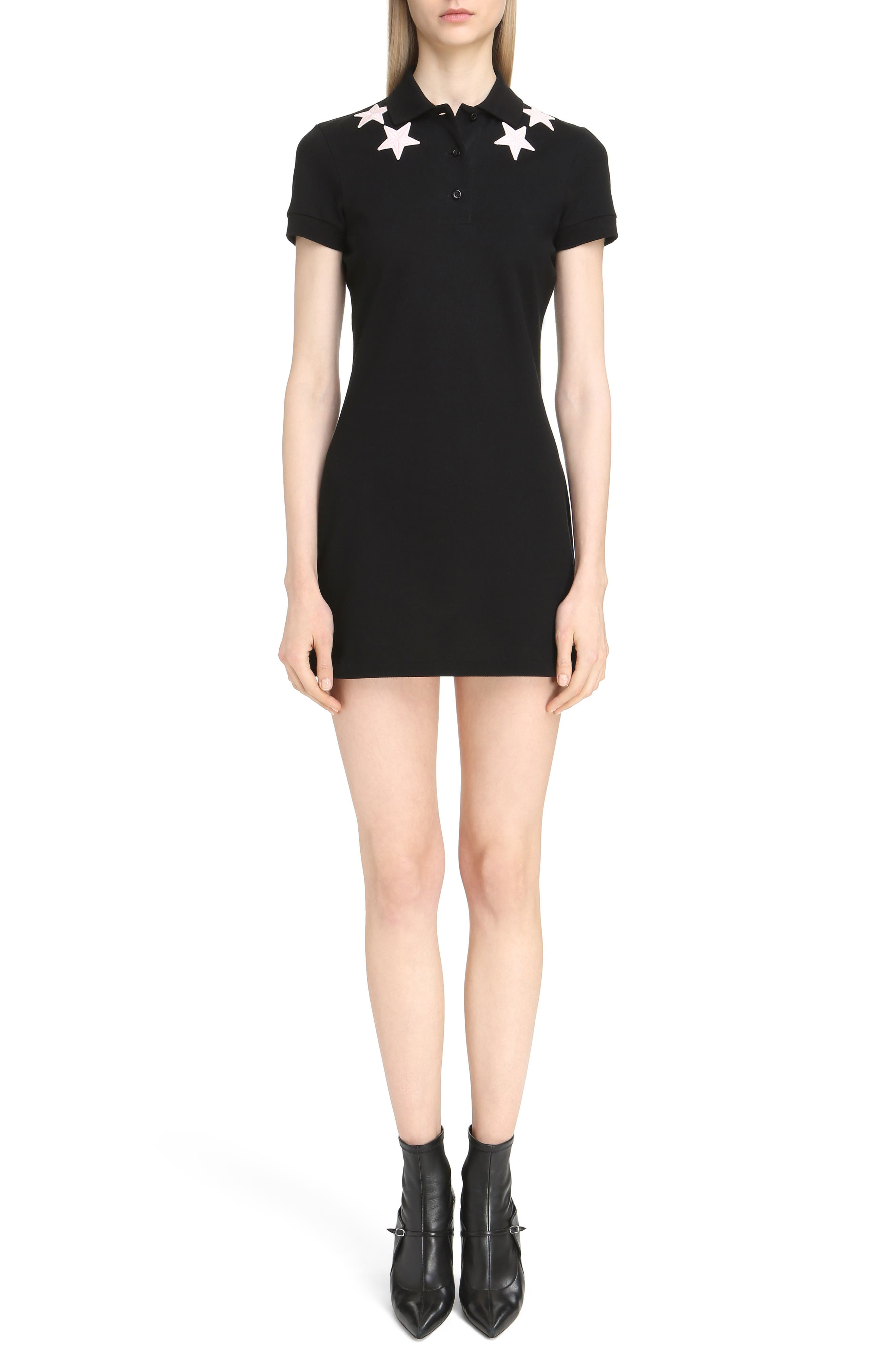 Main Image - Givenchy Star Embellished Polo Dress