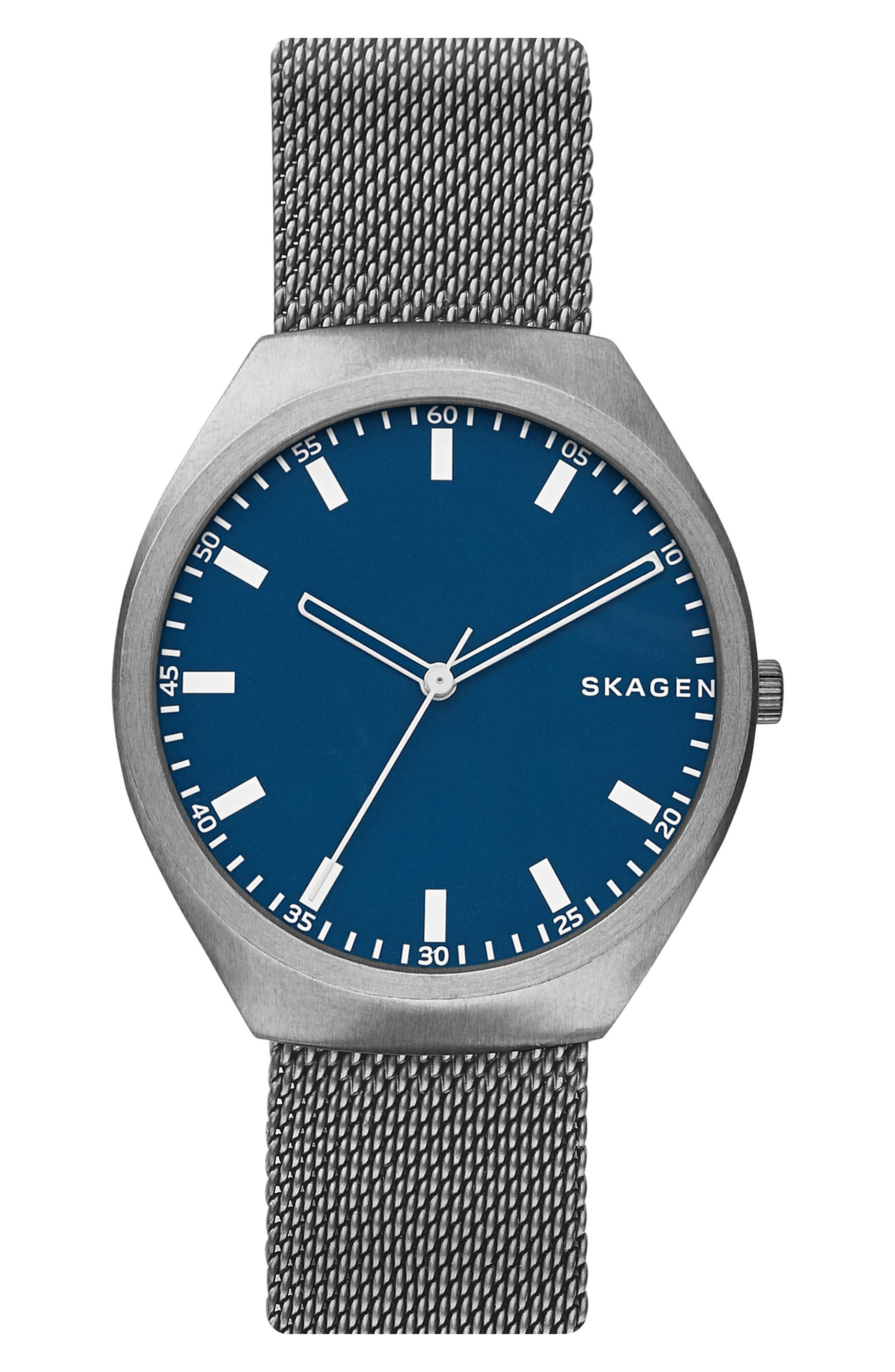 Skagen Greenen Titanium Mesh Strap Watch, 40mm