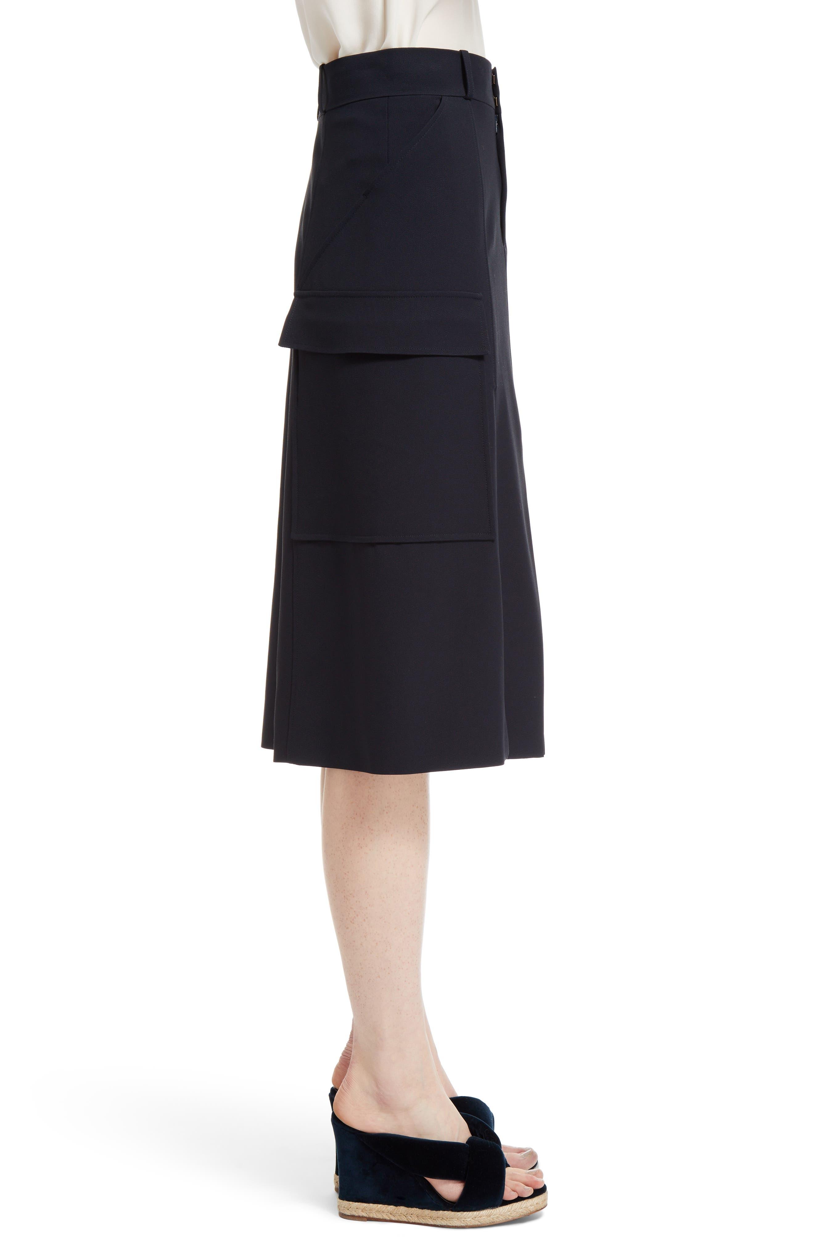 Cady Skirt,                             Alternate thumbnail 4, color,                             Blue