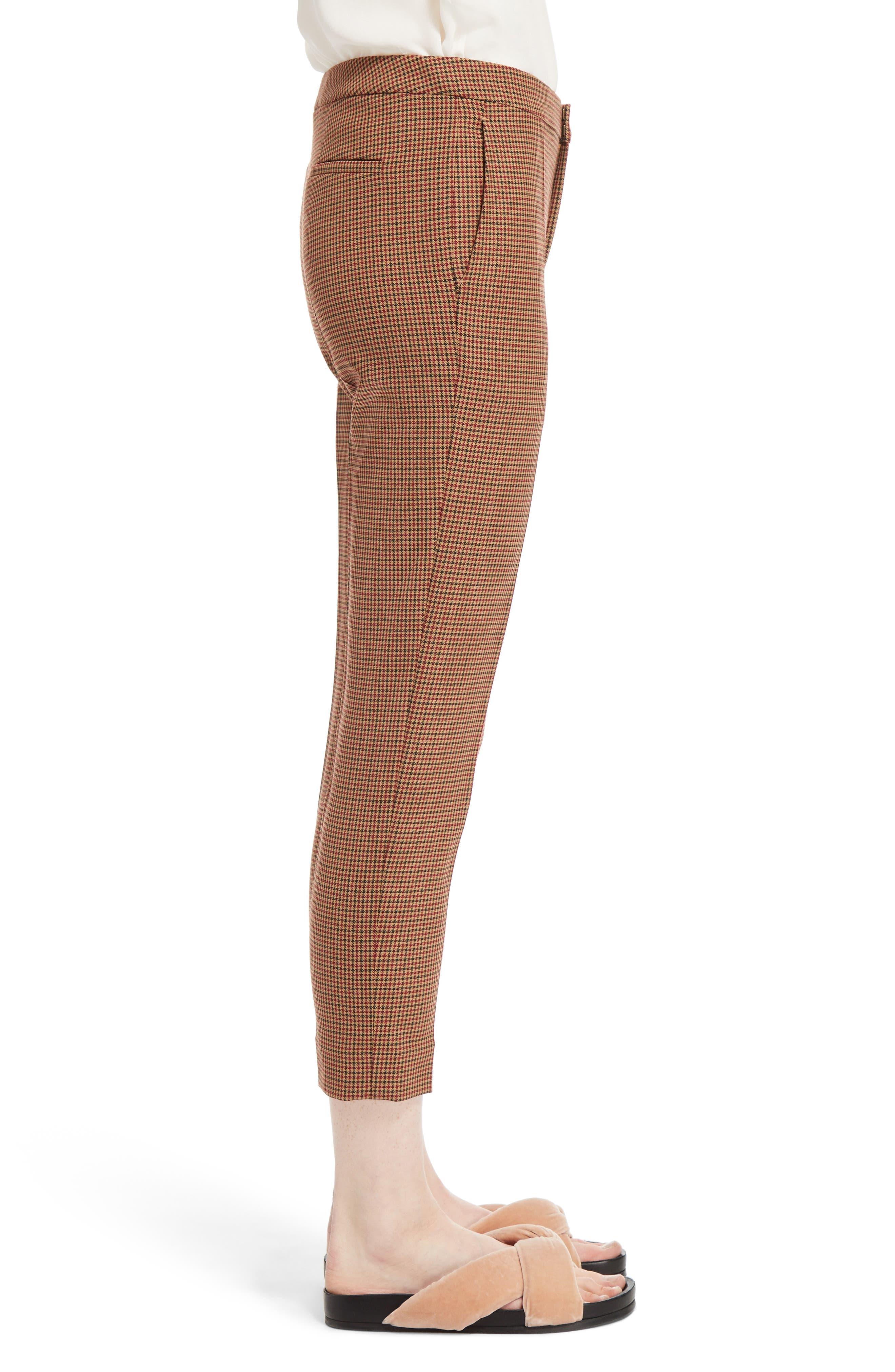 Alternate Image 4  - Chloé Check Crop Pants