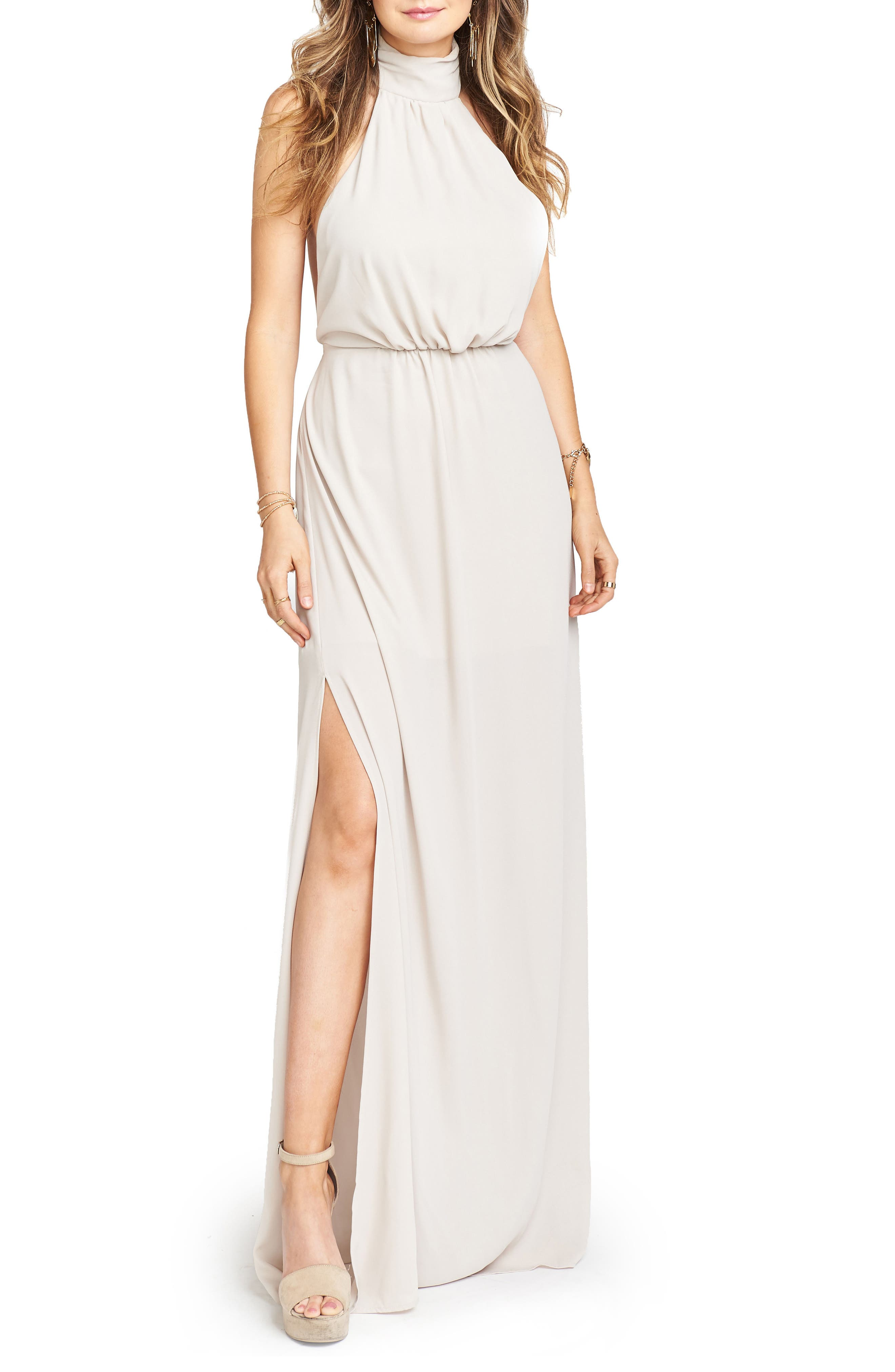 Show Me Your Mumu Collette Halter Gown