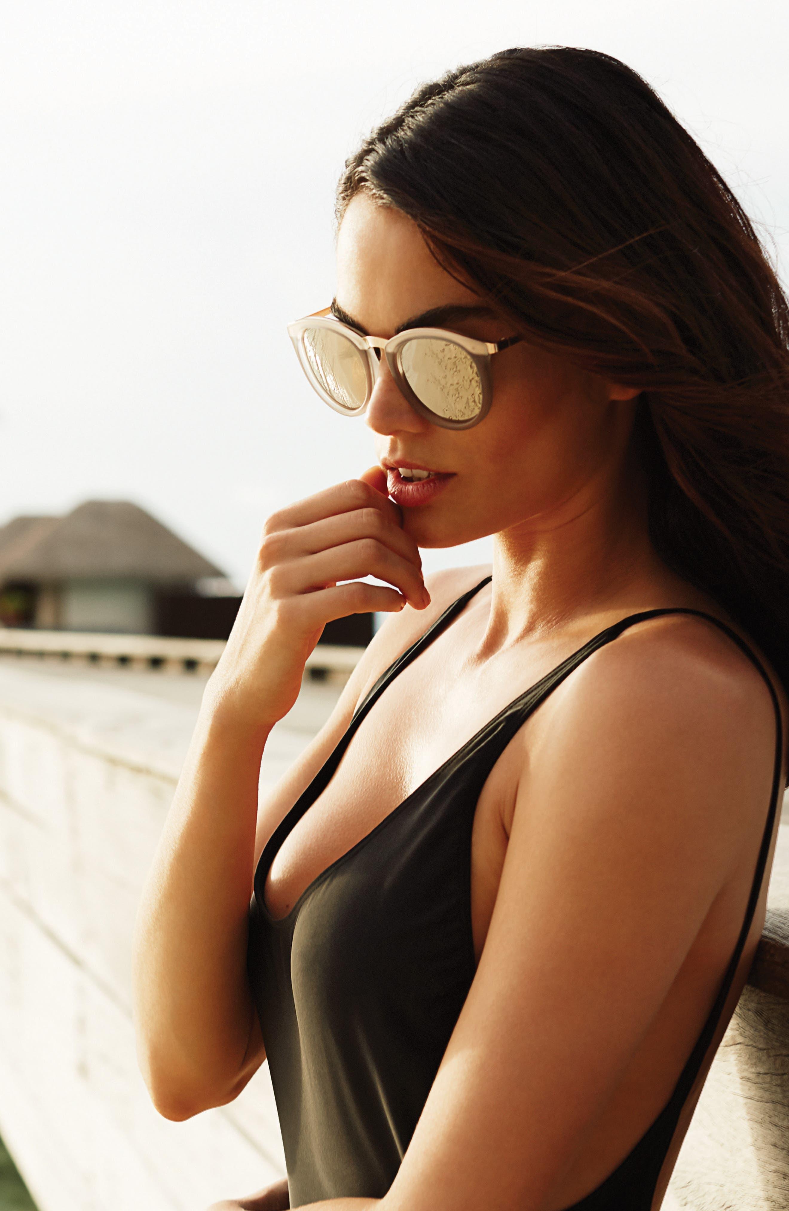 Alternate Image 2  - Le Specs No Smirking 50mm Polarized Sunglasses