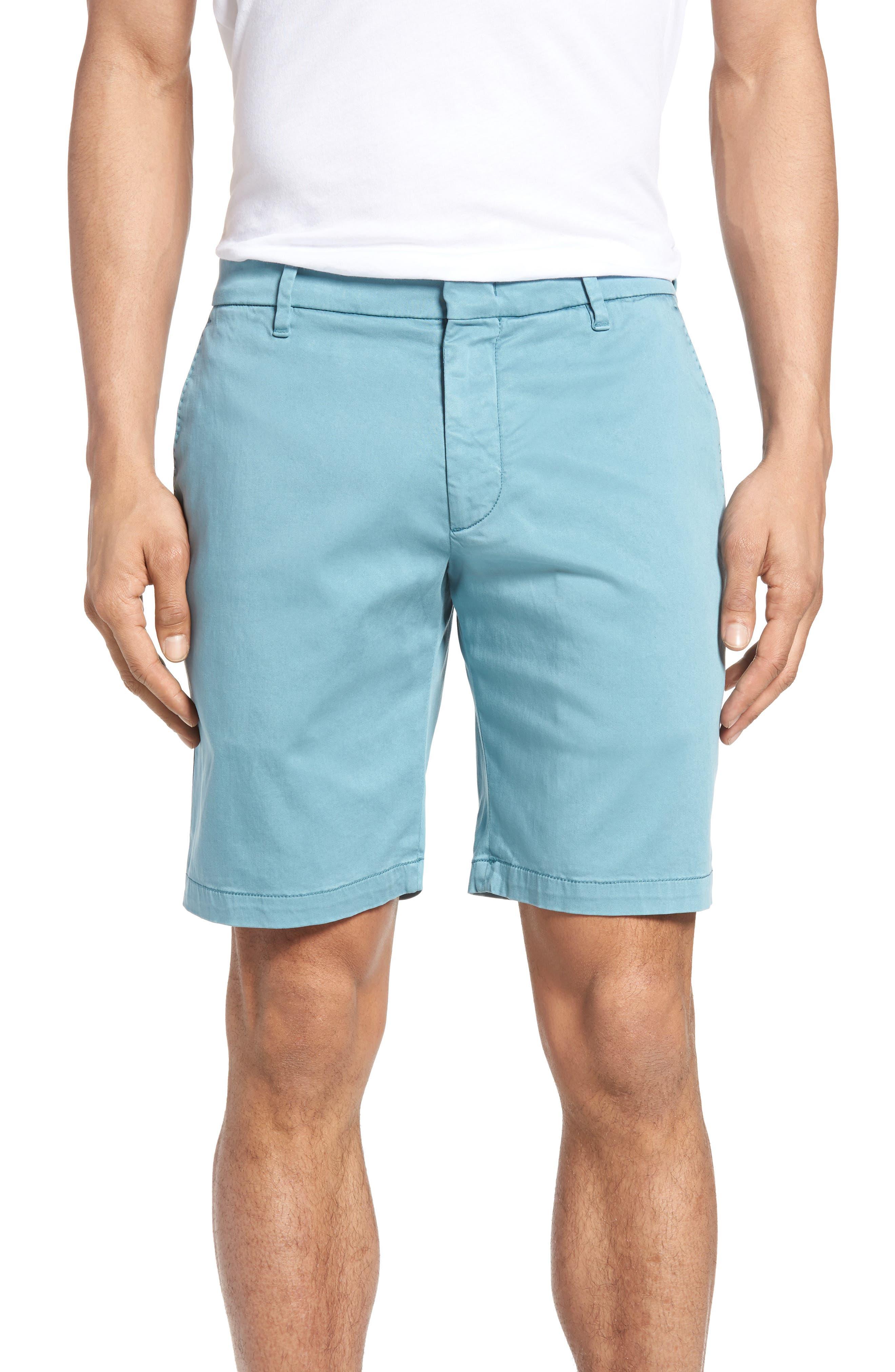 Catalpa Shorts,                         Main,                         color, Teal