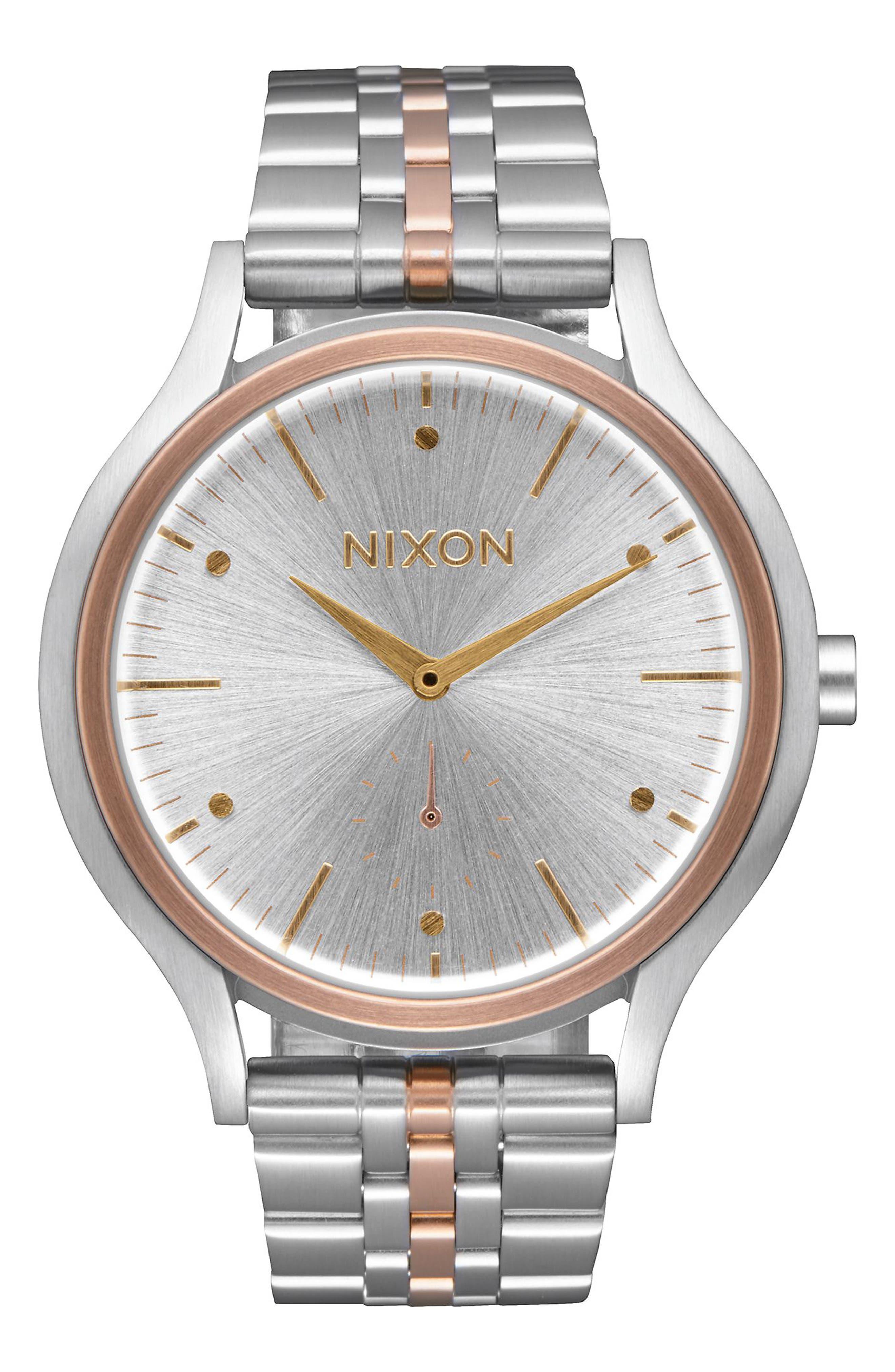 Sala Bracelet Watch, 38mm,                         Main,                         color, Silver / Gold / Rose Gold