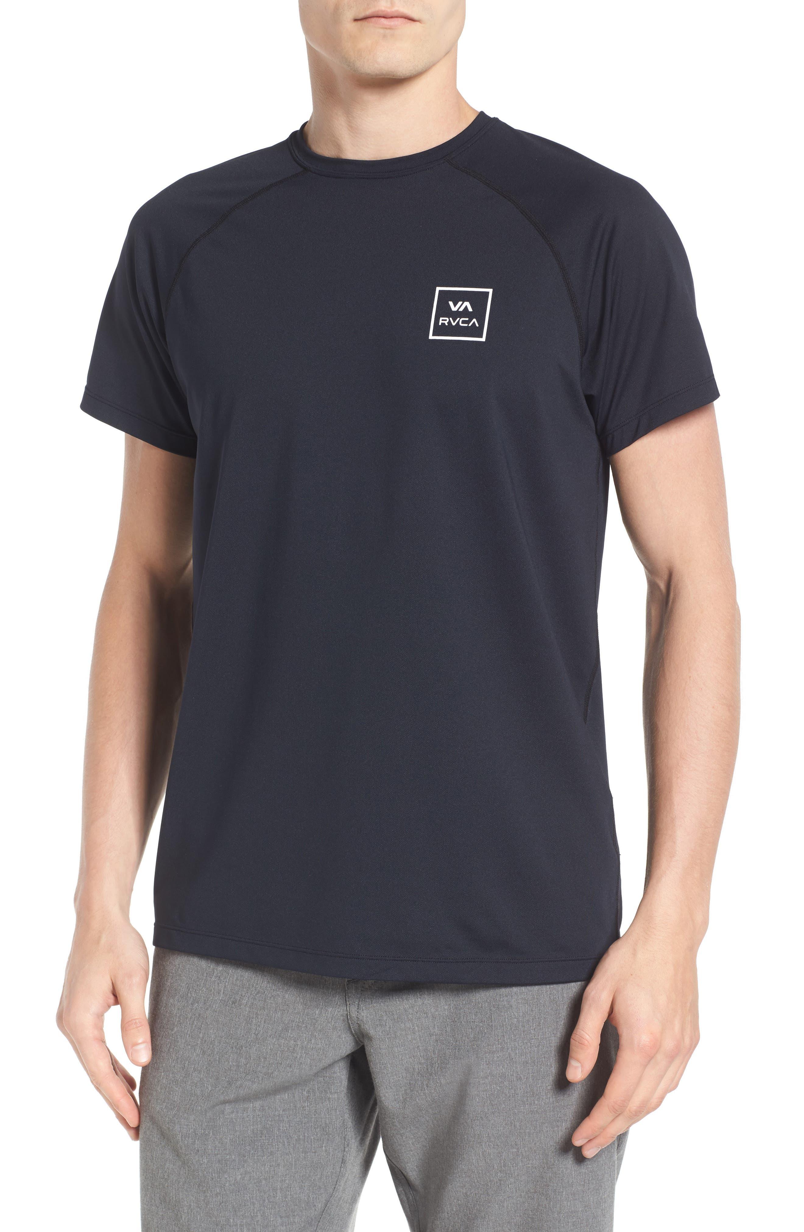 VA All the Way Surf T-Shirt,                             Main thumbnail 1, color,                             Black