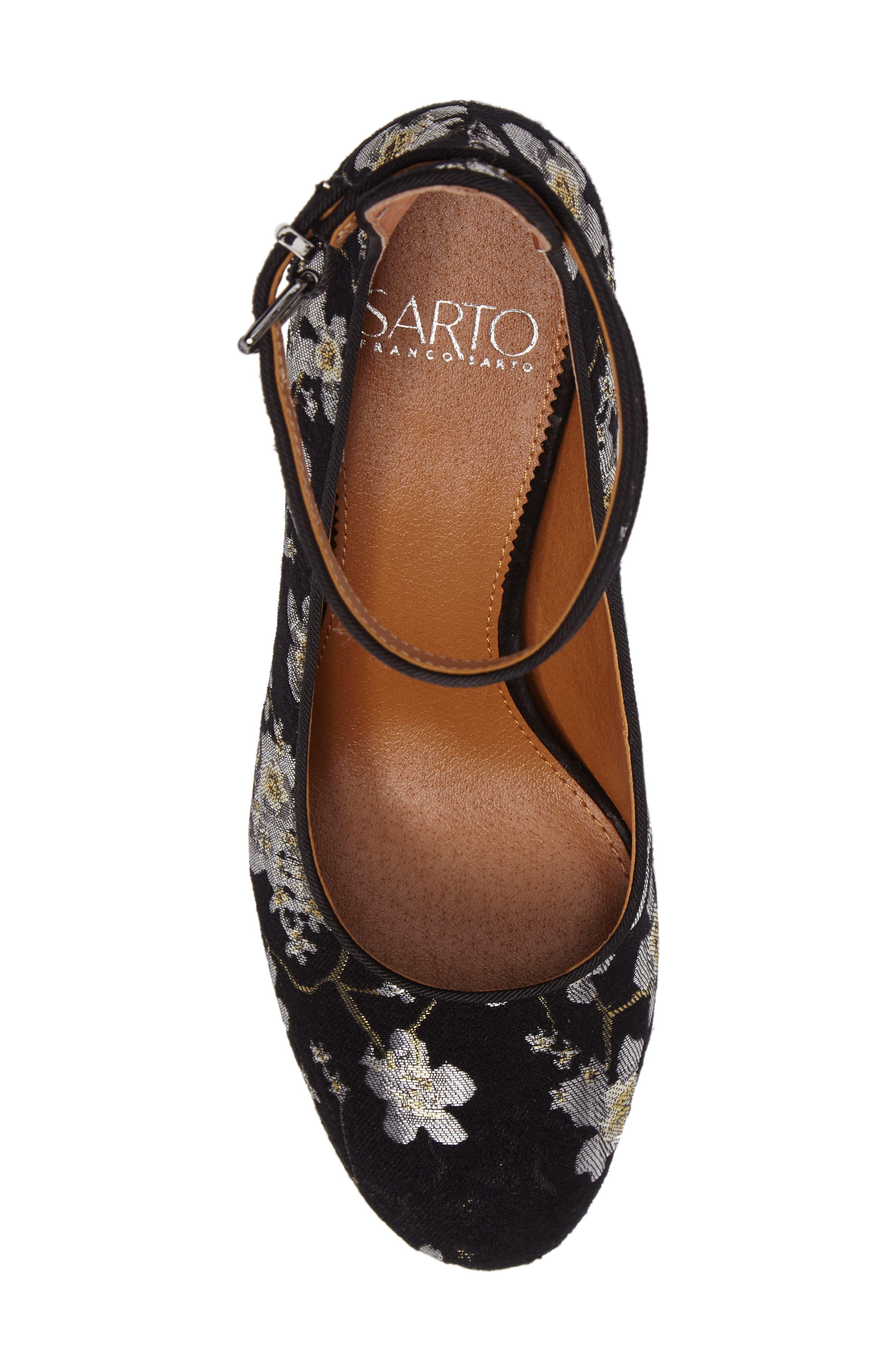 Alternate Image 5  - SARTO by Franco Sarto Abbington Ankle Strap Pump (Women)