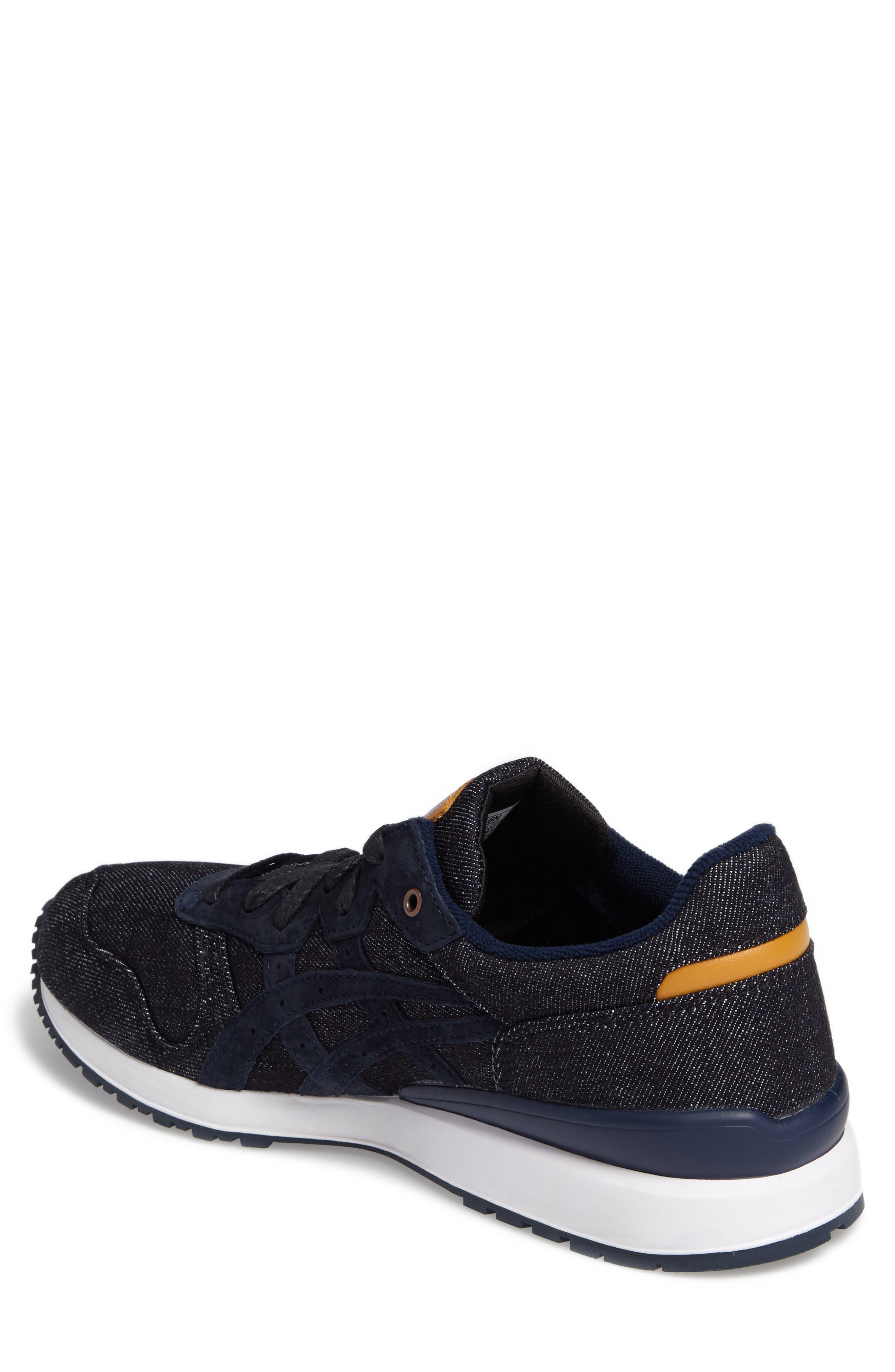 Onitsuka Tiger Ally Sneaker,                             Alternate thumbnail 2, color,                             Indigo Blue/ Indigo Blue