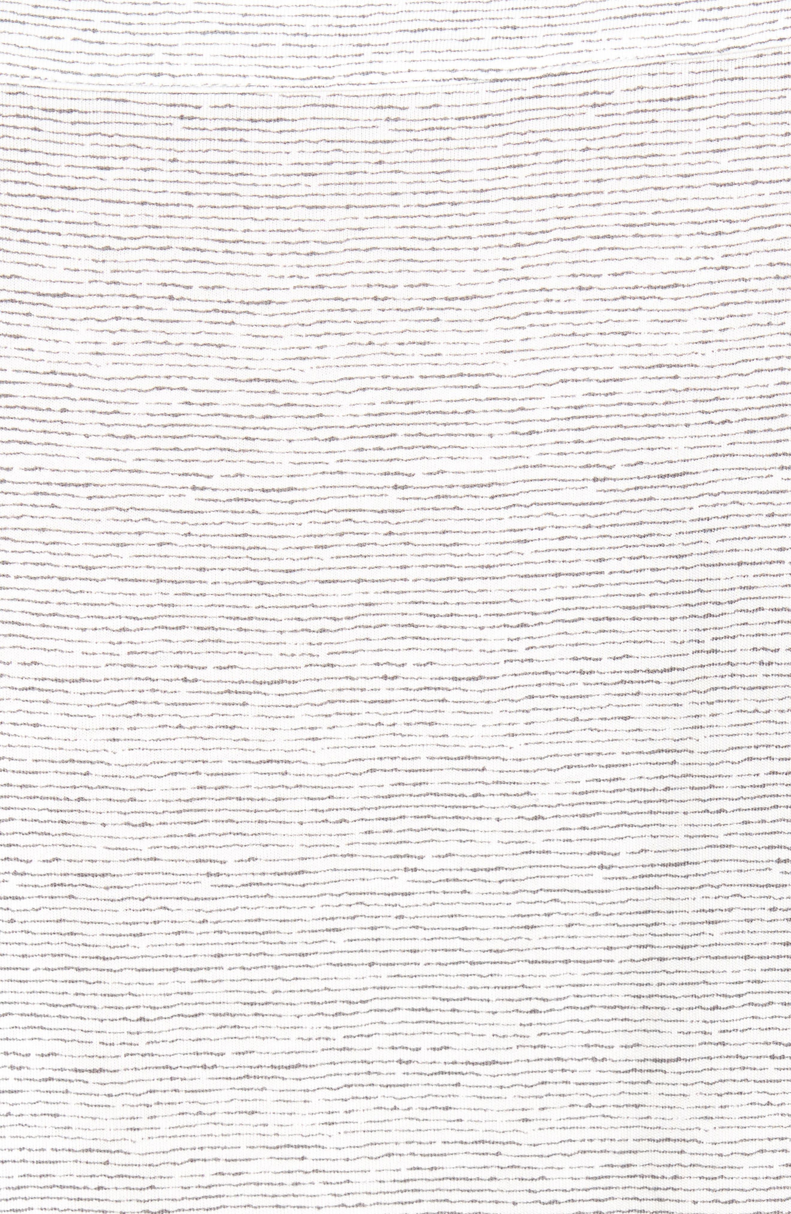 Alternate Image 5  - Daniel Buchler Feeder Stripe Pima Cotton & Modal V-Neck T-Shirt