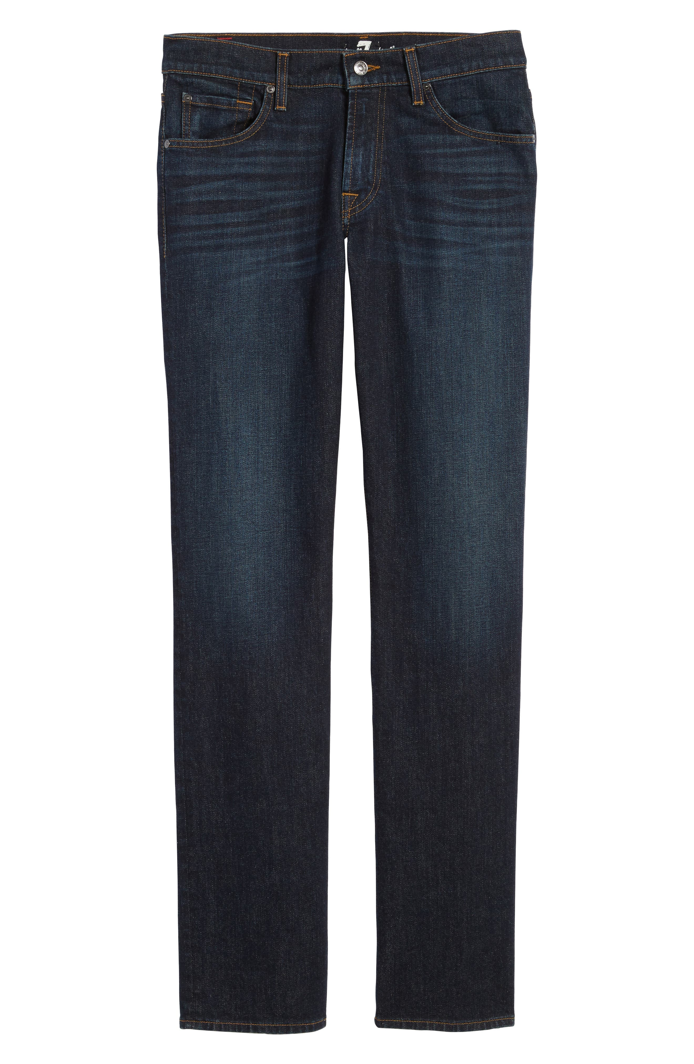 Alternate Image 7  - 7 For All Mankind® Standard Straight Leg Jeans (Pike)