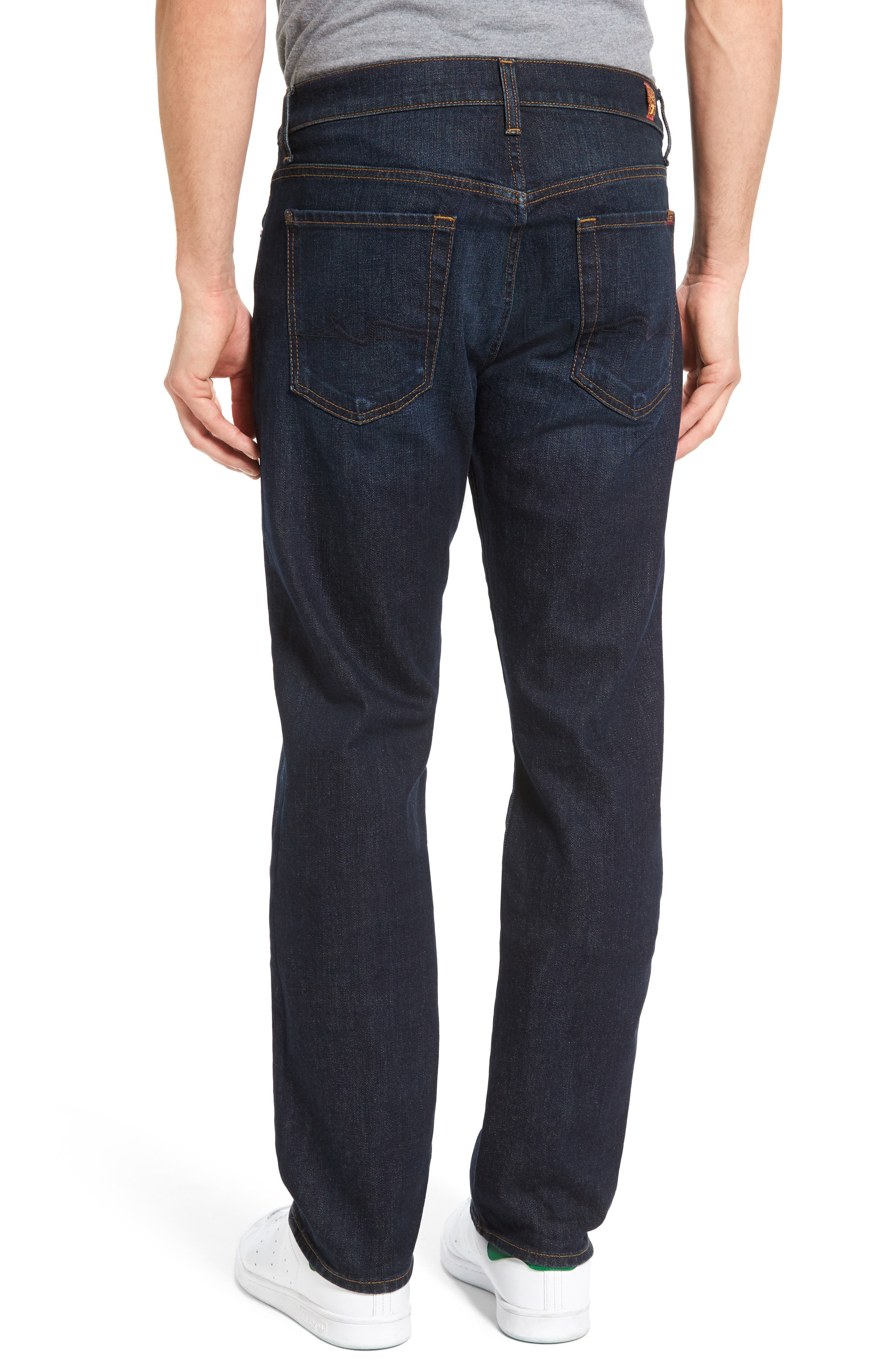 Alternate Image 2  - 7 For All Mankind® Standard Straight Leg Jeans (Pike)
