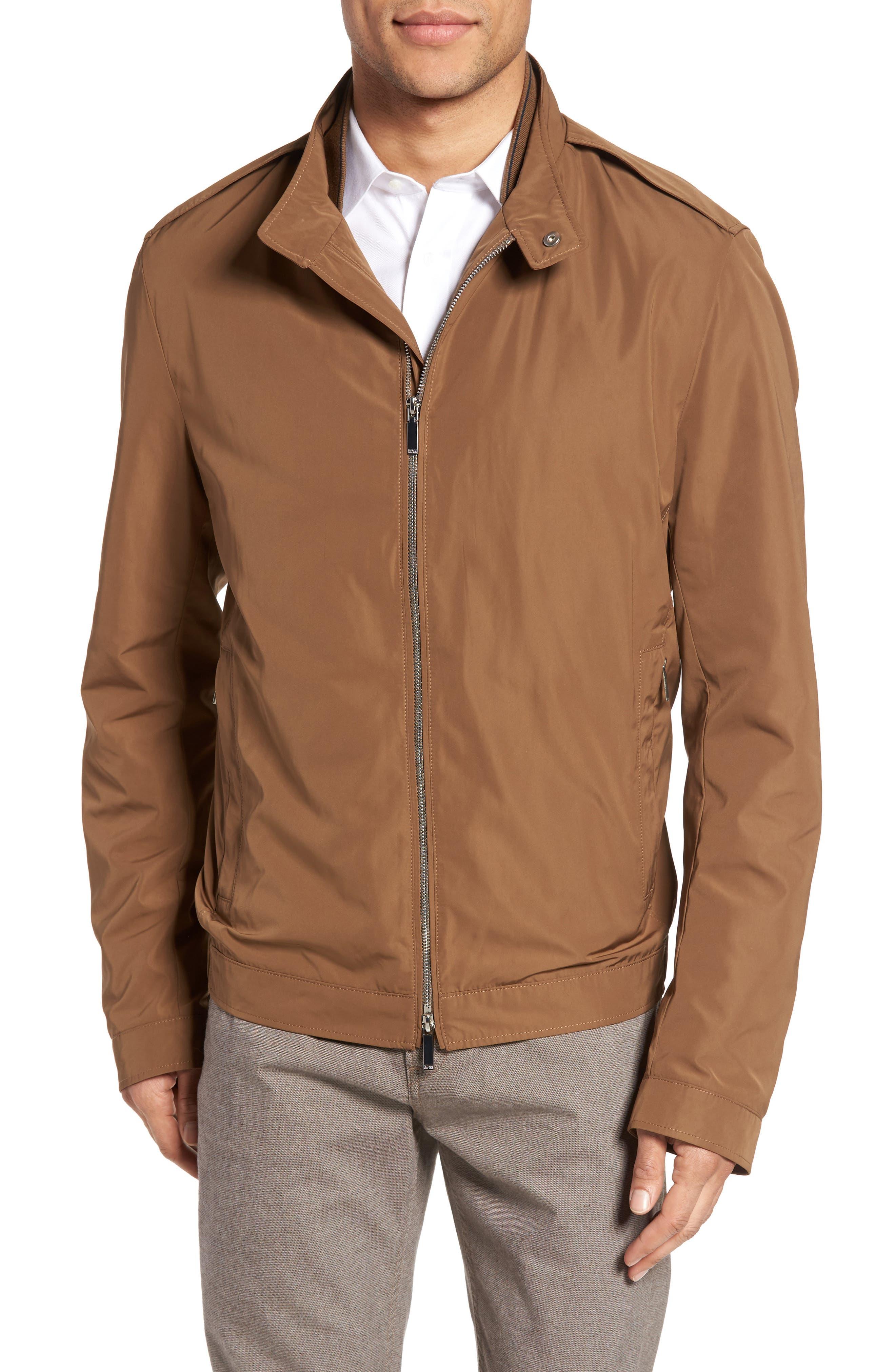 BOSS Cael Zip Front Jacket