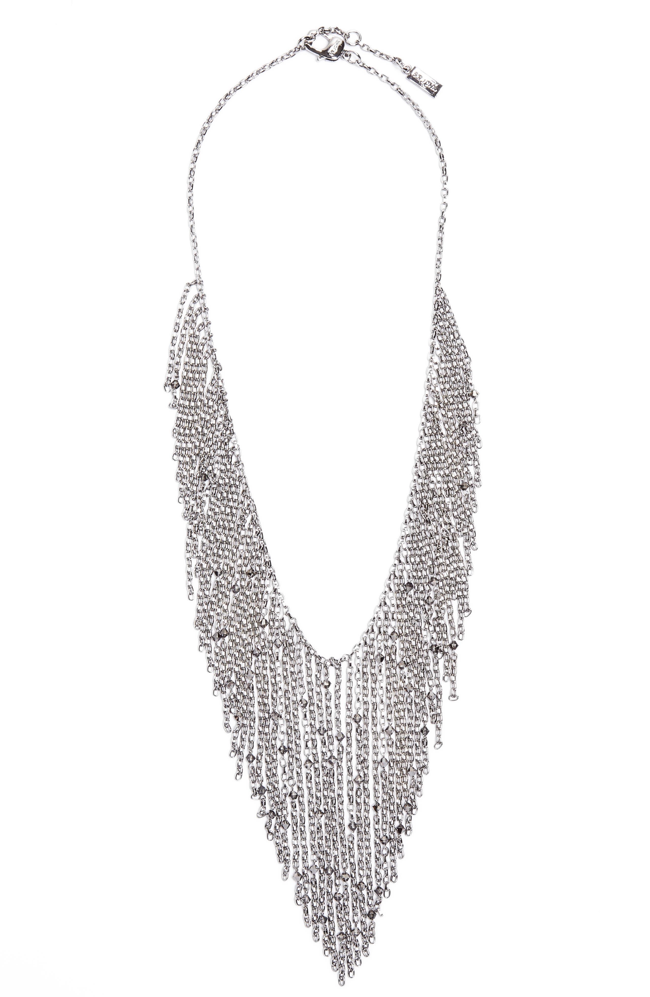 St. John Collection Swarovski Crystal Chain Necklace