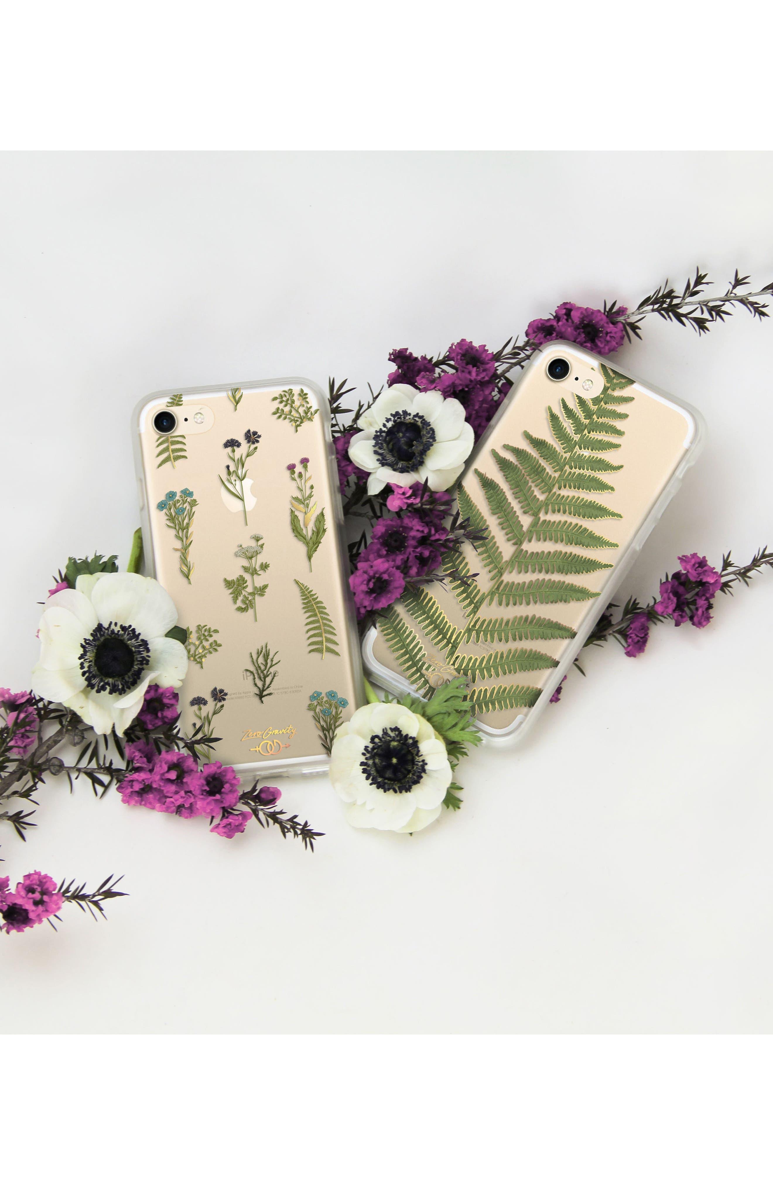 Native Plants iPhone 7 & 7 Plus Case,                             Alternate thumbnail 3, color,                             Green Multi