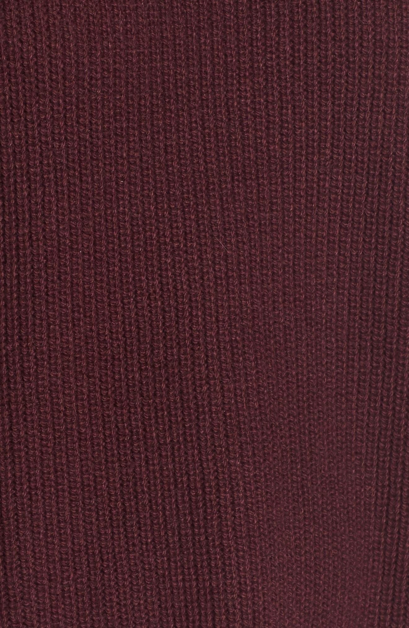 Alternate Image 5  - BP. Cold Shoulder Tunic Sweater