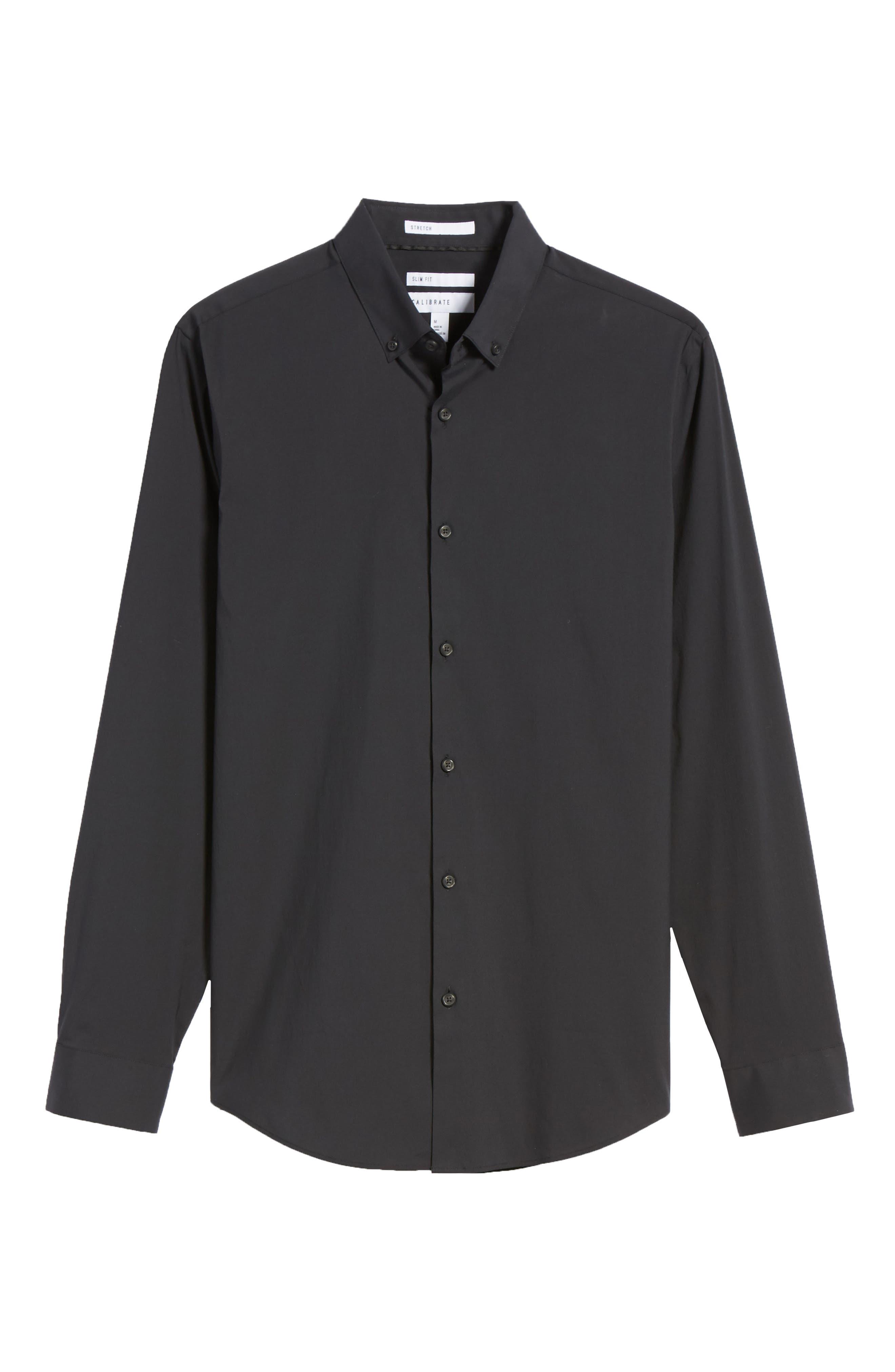 Alternate Image 5  - Calibrate Trim Fit Stretch Woven Sport Shirt