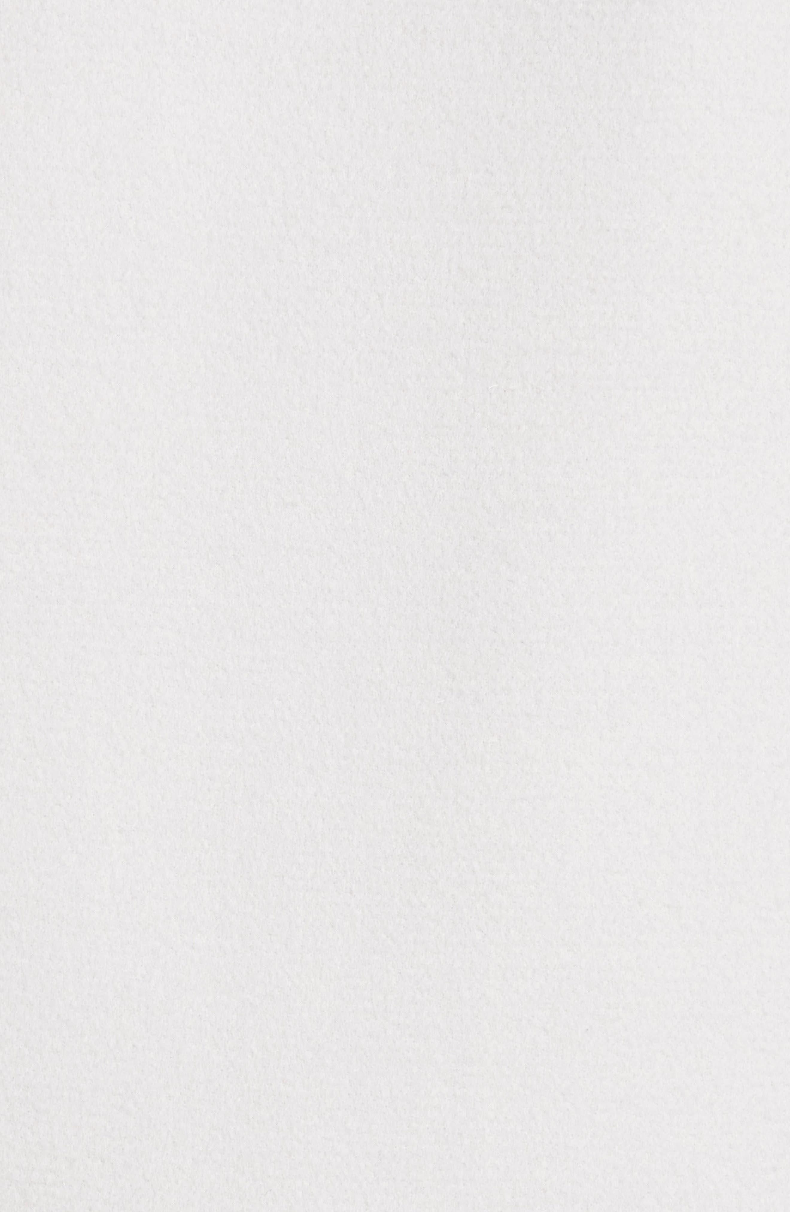 Reversible Wool Blend Cocoon Coat,                             Alternate thumbnail 6, color,                             Petal/ Light Grey Melange