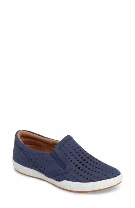 90201c29575b Comfortiva Lyra Perforated Slip-On Sneaker (Women)