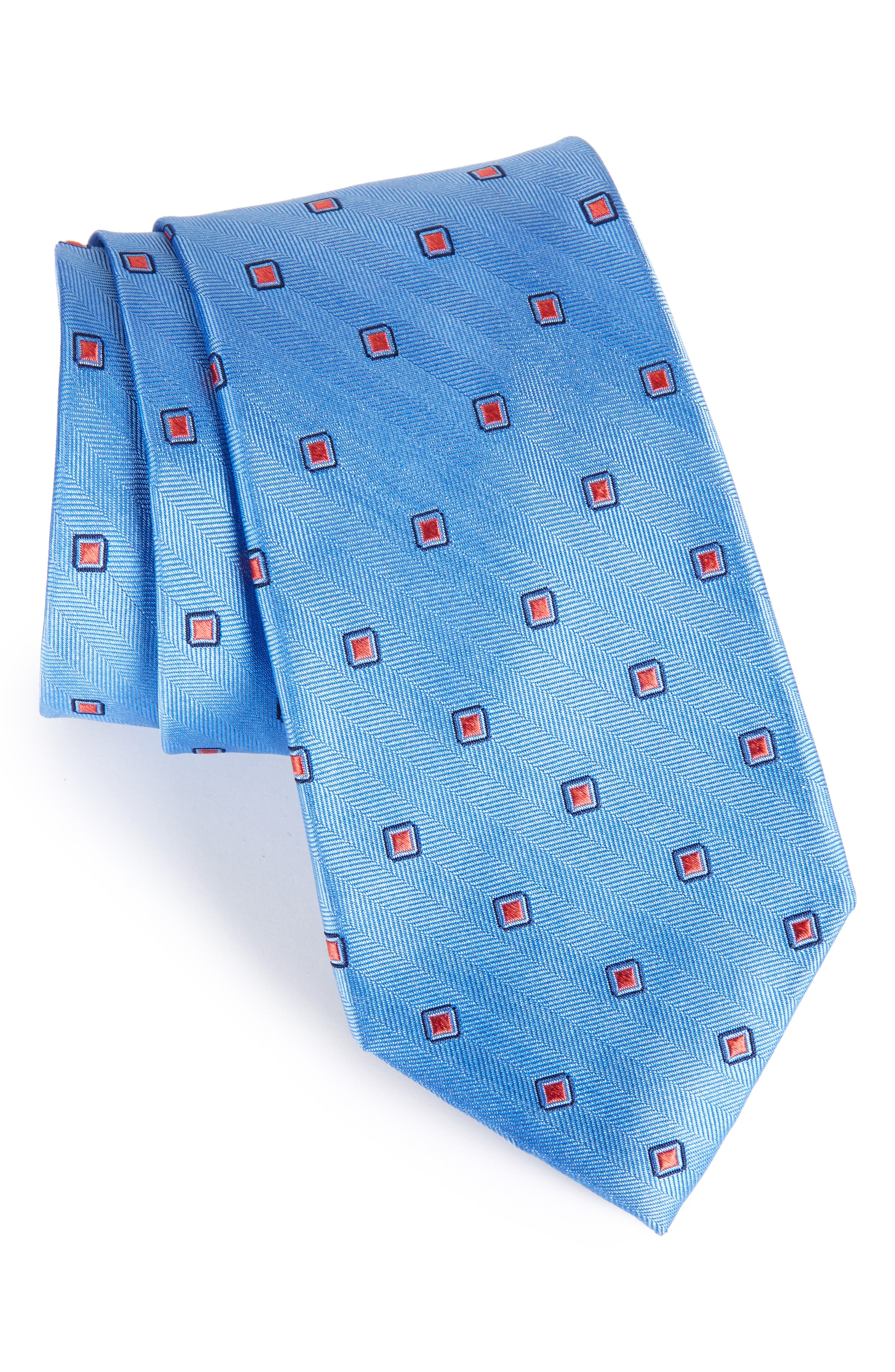 Nordstrom Men's Shop Open Ground Silk Tie