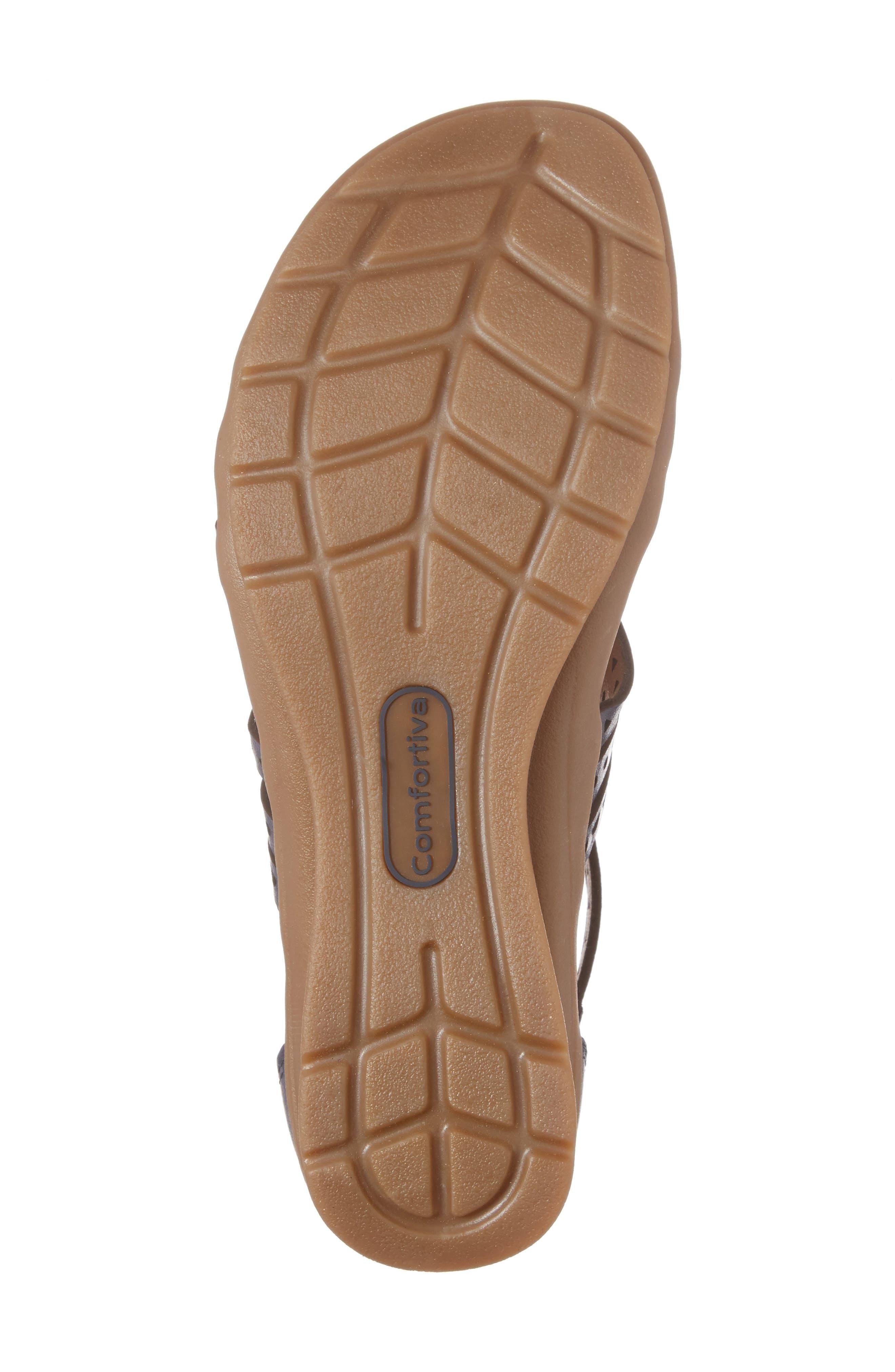 Alternate Image 6  - Comfortiva Kaelin Wedge Sandal (Women)