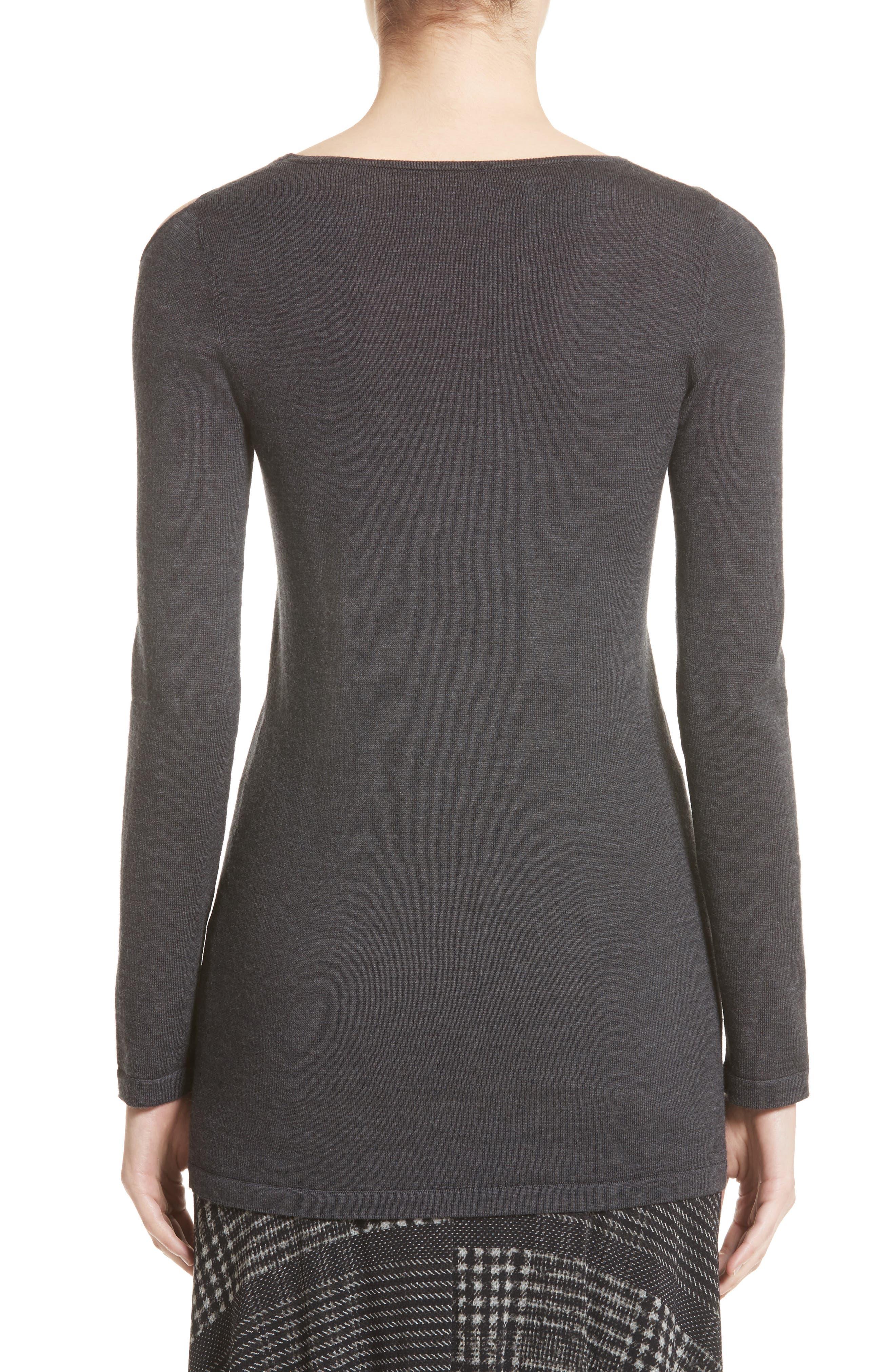 Alternate Image 2  - Fuzzi Cutout Merino Wool Sweater