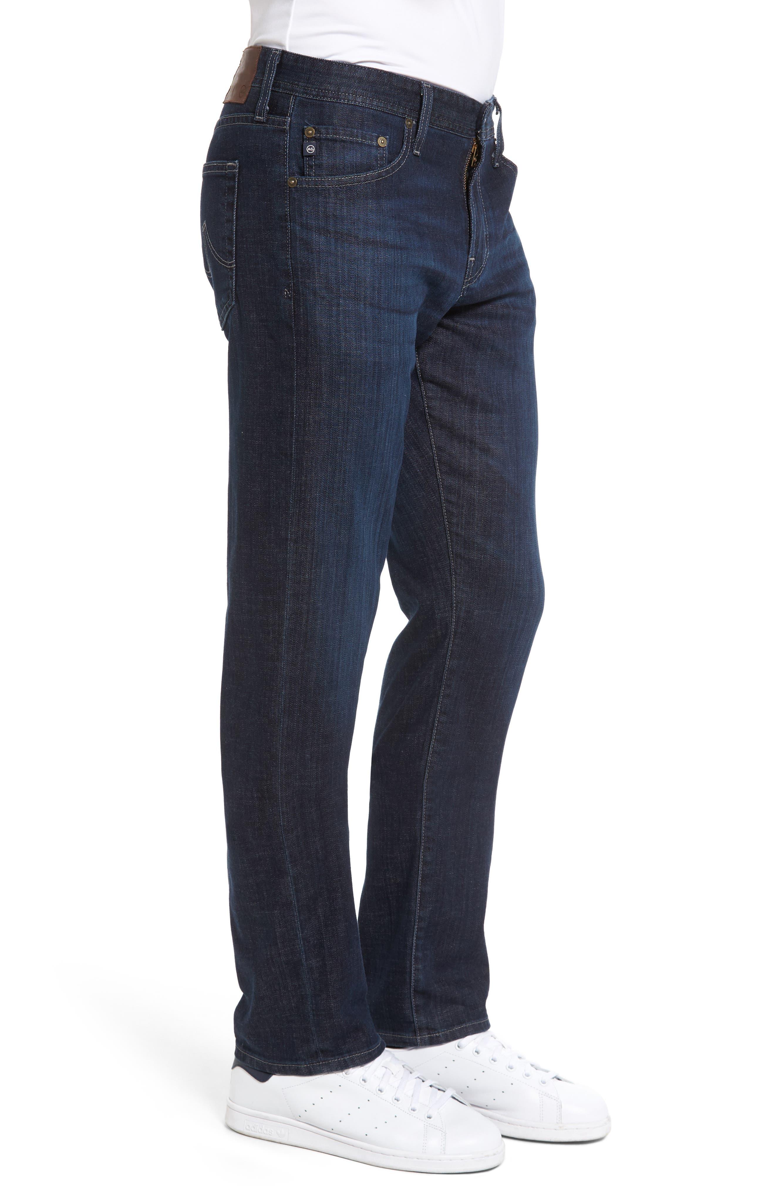 Alternate Image 3  - AG Graduate Slim Straight Leg Jeans (Balcony) (Regular & Tall)