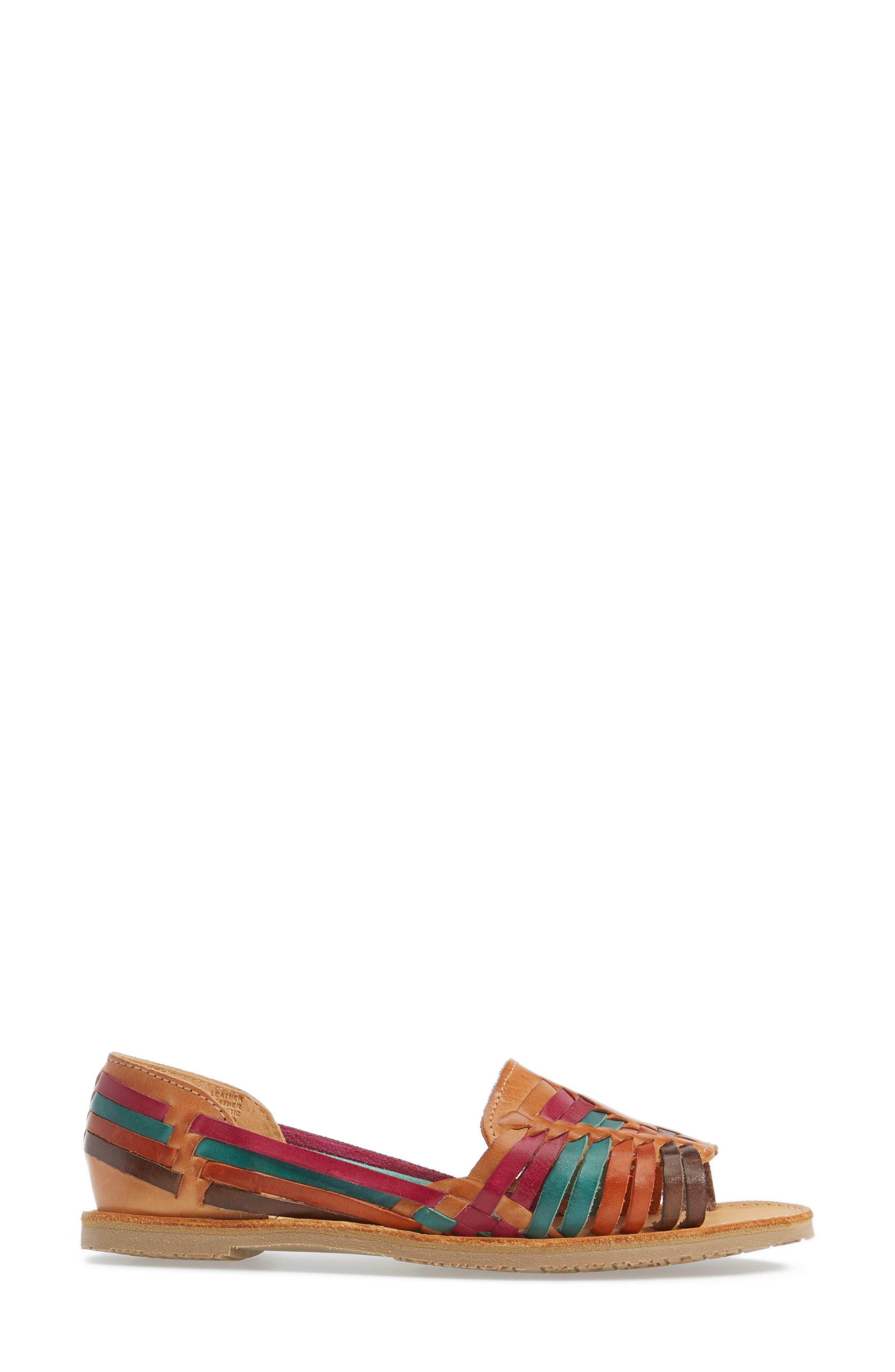 Alternate Image 3  - Sbicca Jared Peep Toe Flat (Women)