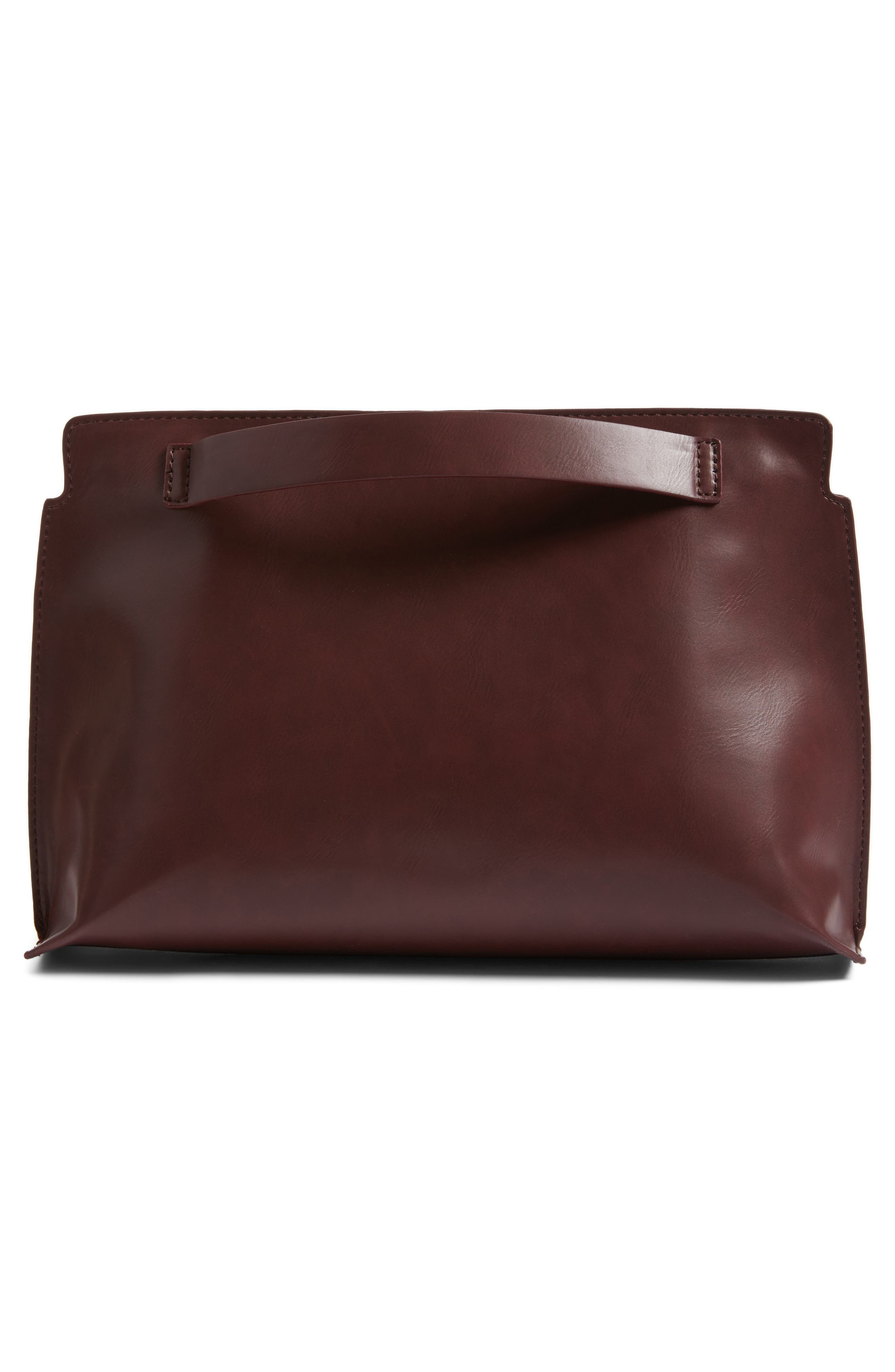 Alternate Image 3  - BP. Faux Leather Clutch