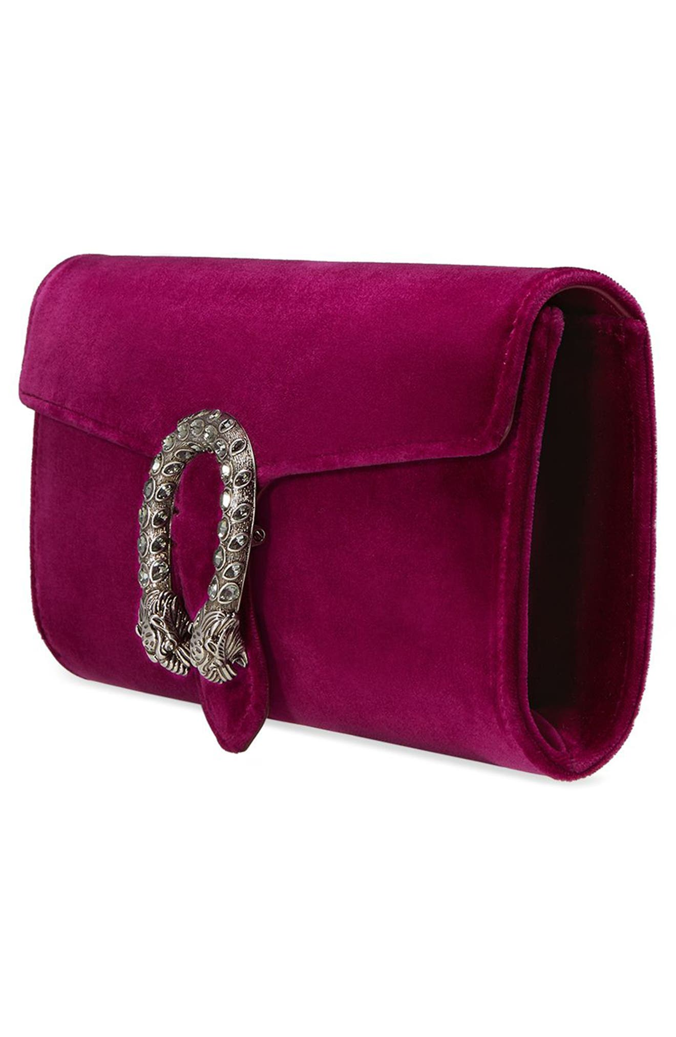 Alternate Image 4  - Gucci Dionysus Velvet Clutch