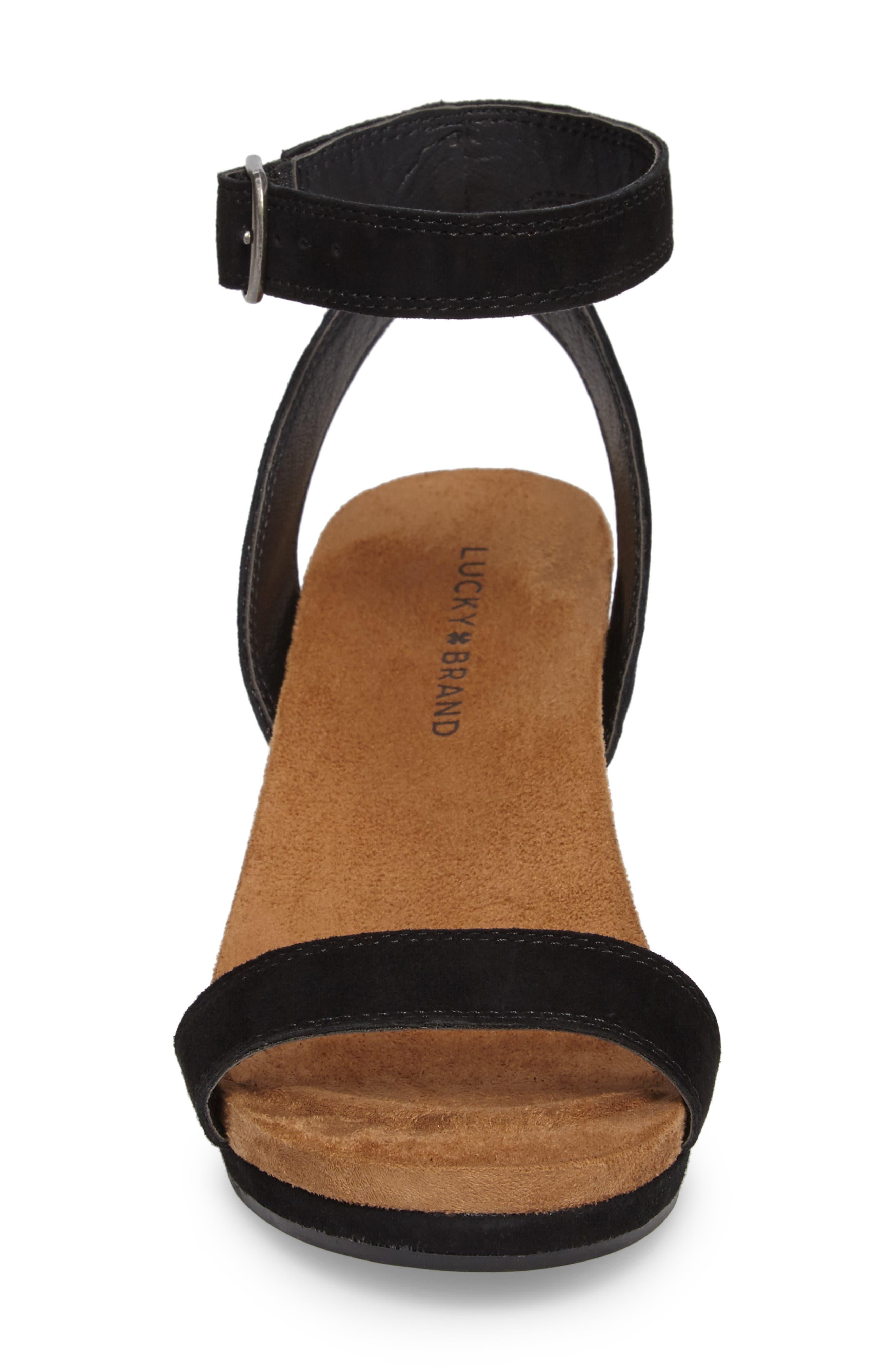 Alternate Image 4  - Lucky Brand Karston Wedge Sandal (Women)
