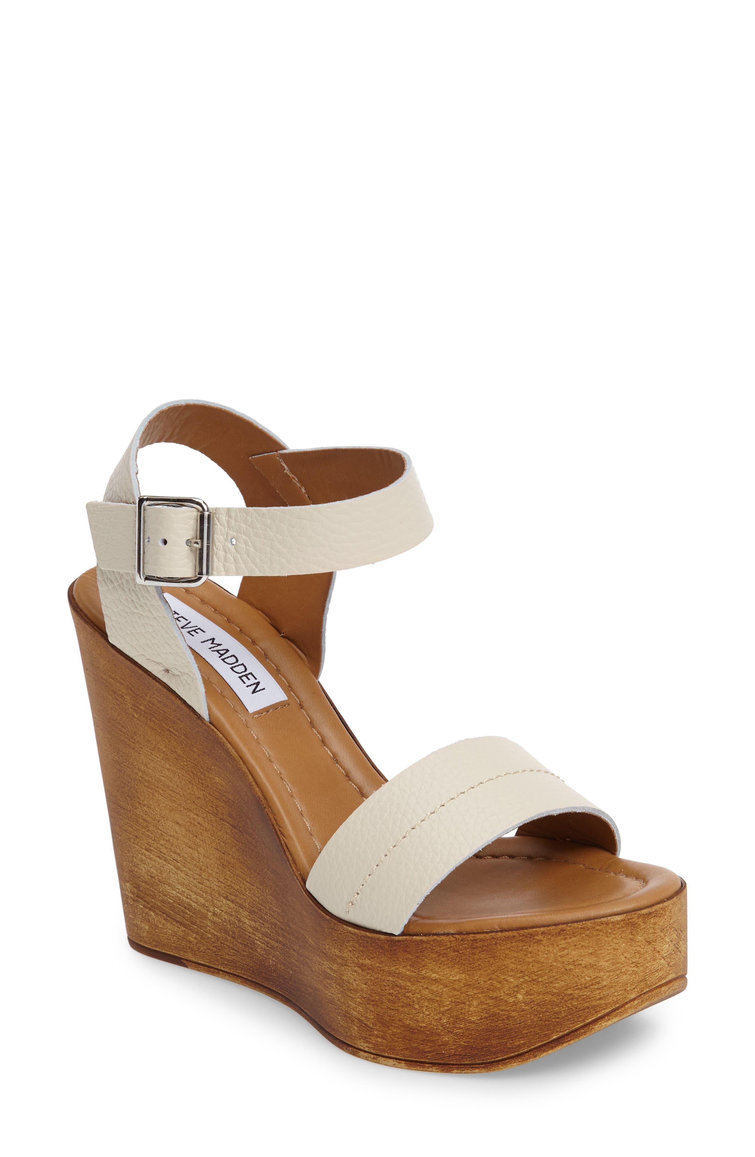 Steve Madden Belma Wedge Sandal (Women)