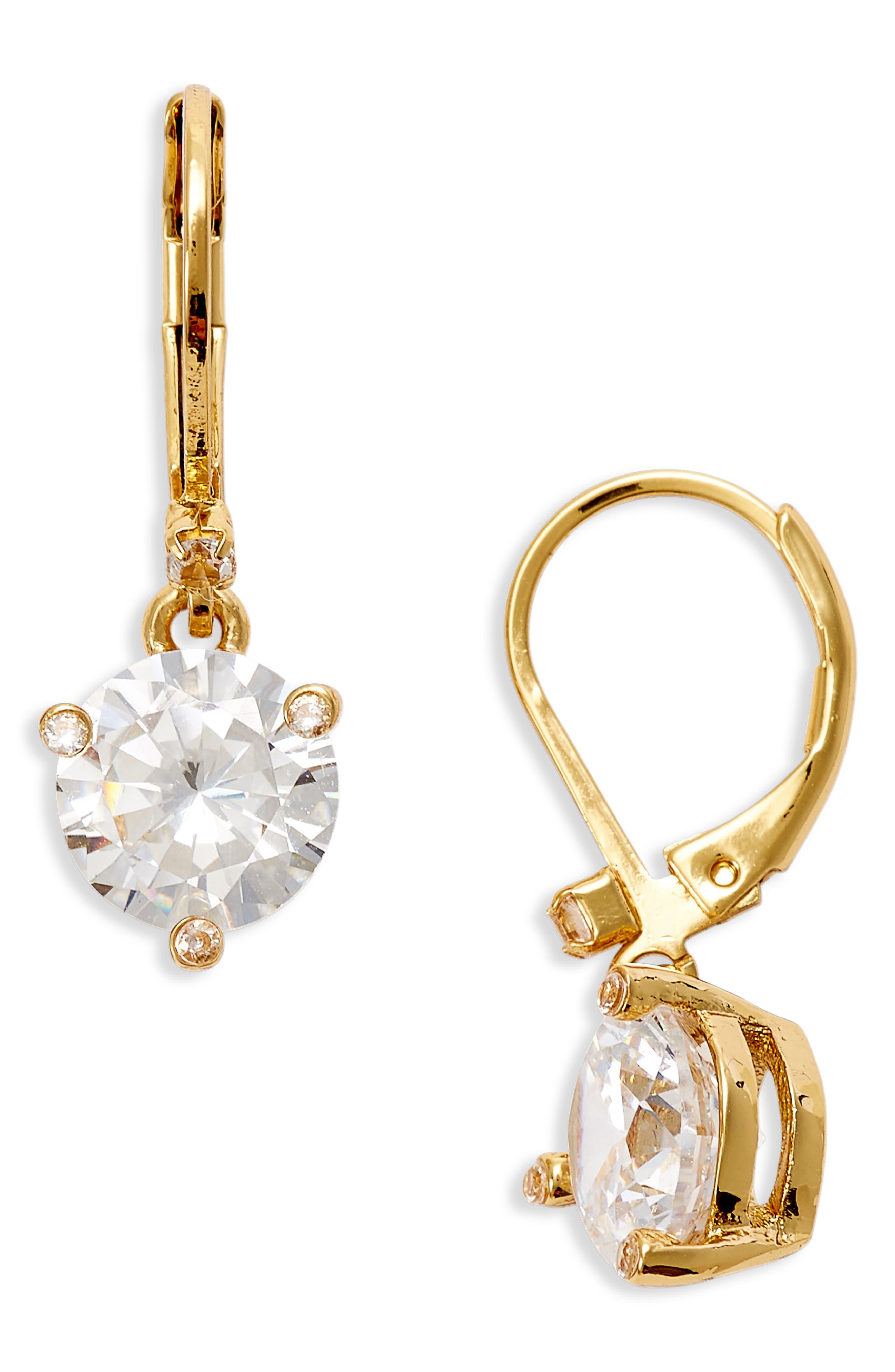 'rise and shine' lever back earrings,                             Main thumbnail 1, color,                             White