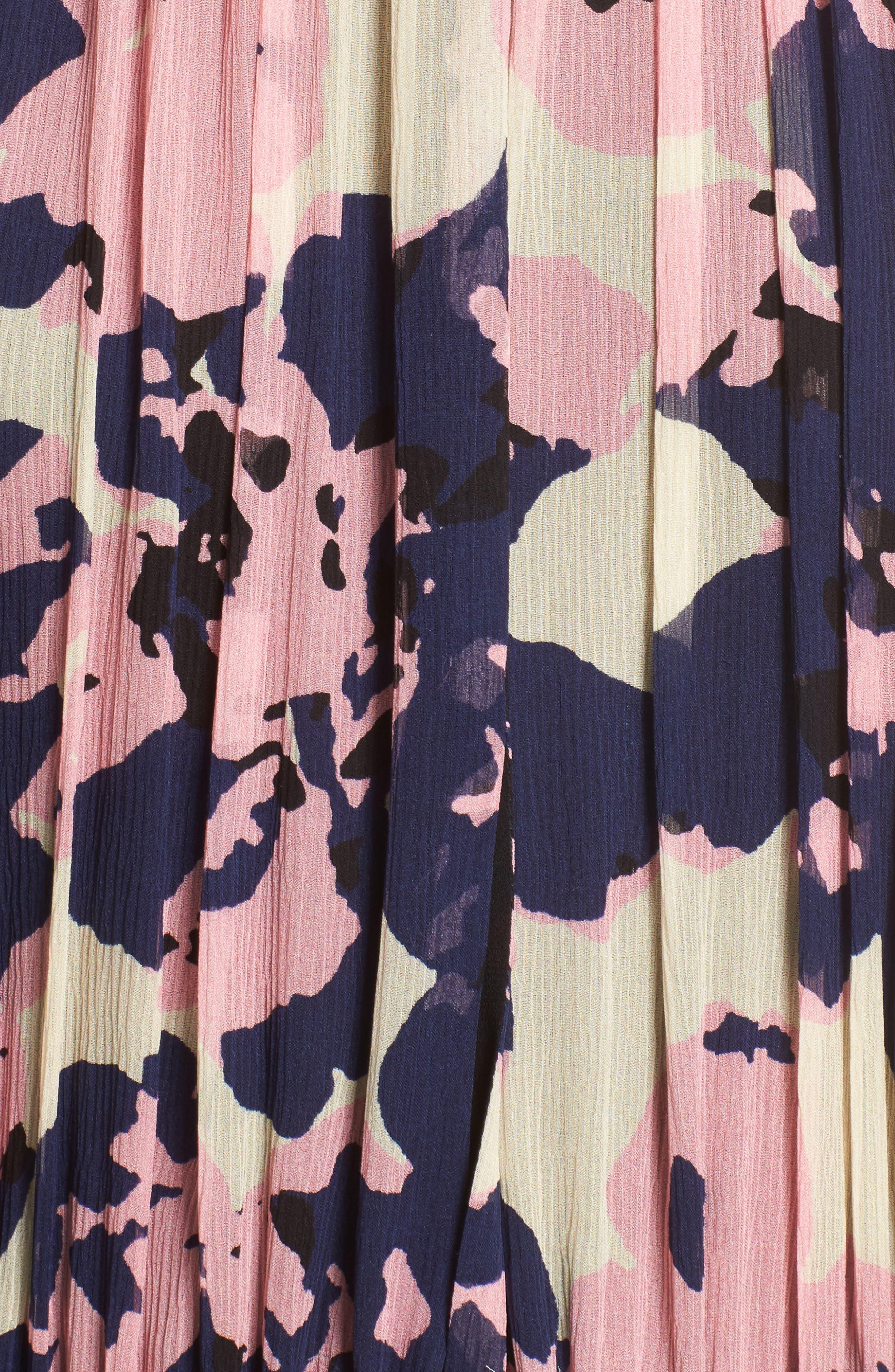 Alternate Image 5  - Apiece Apart Nueva Puebla Print Silk Minidress