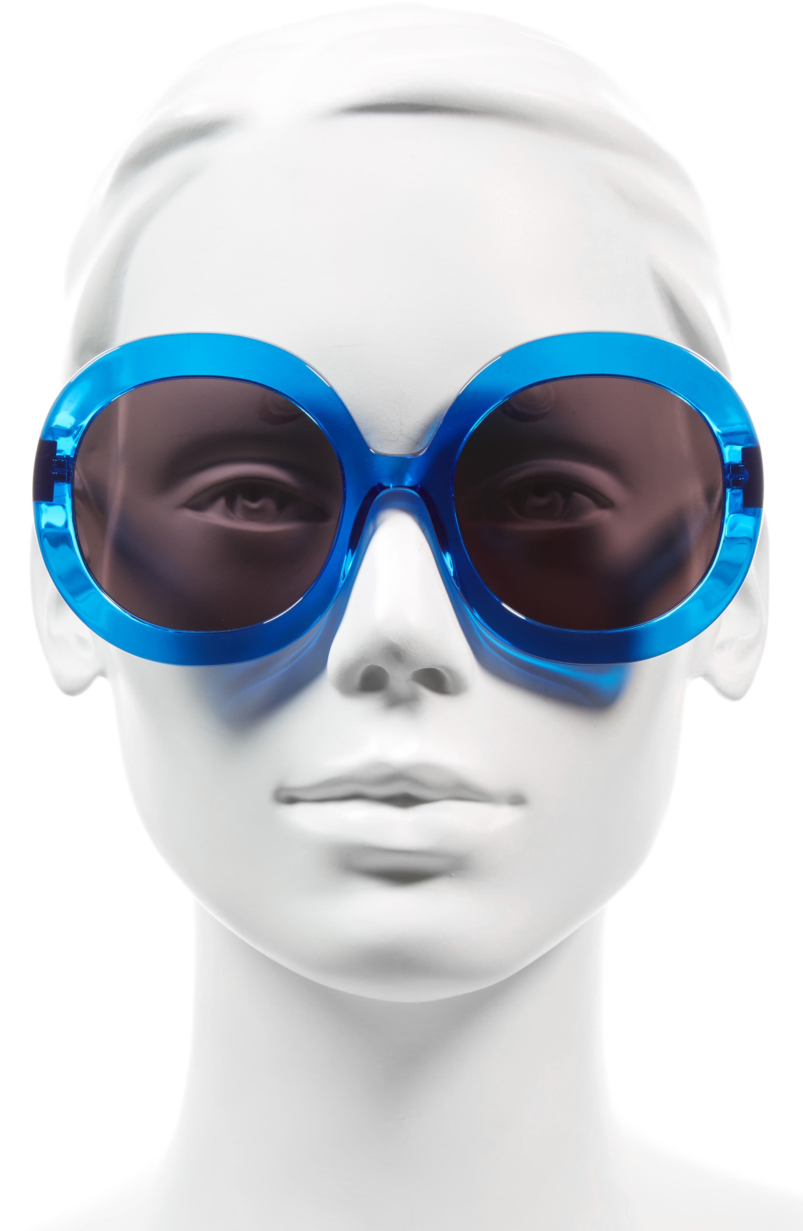 Alternate Image 2  - Alice + Olivia Melrose 56mm Round Sunglasses