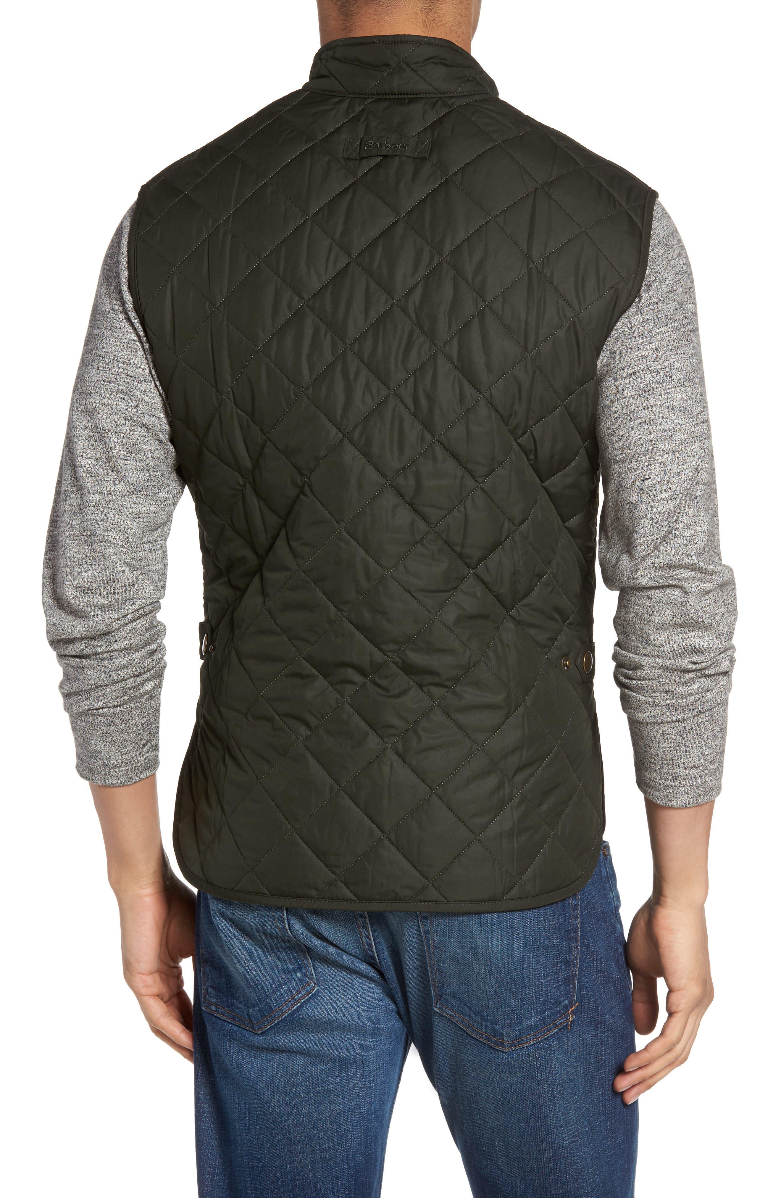 Alternate Image 3  - Barbour 'Lowerdale' Trim Fit Quilted Vest