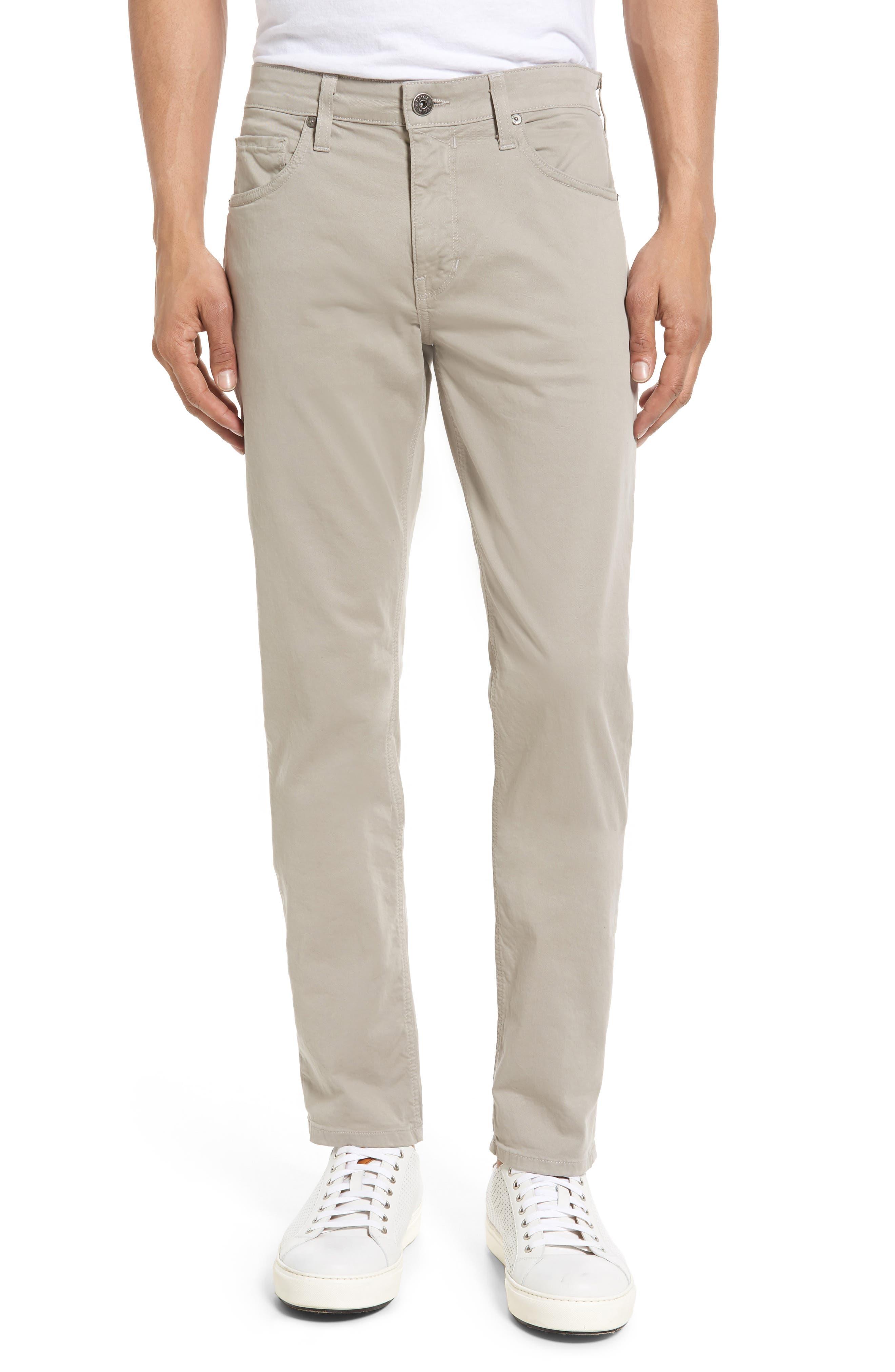 Lennox Skinny Fit Pants,                         Main,                         color, Grey Coast