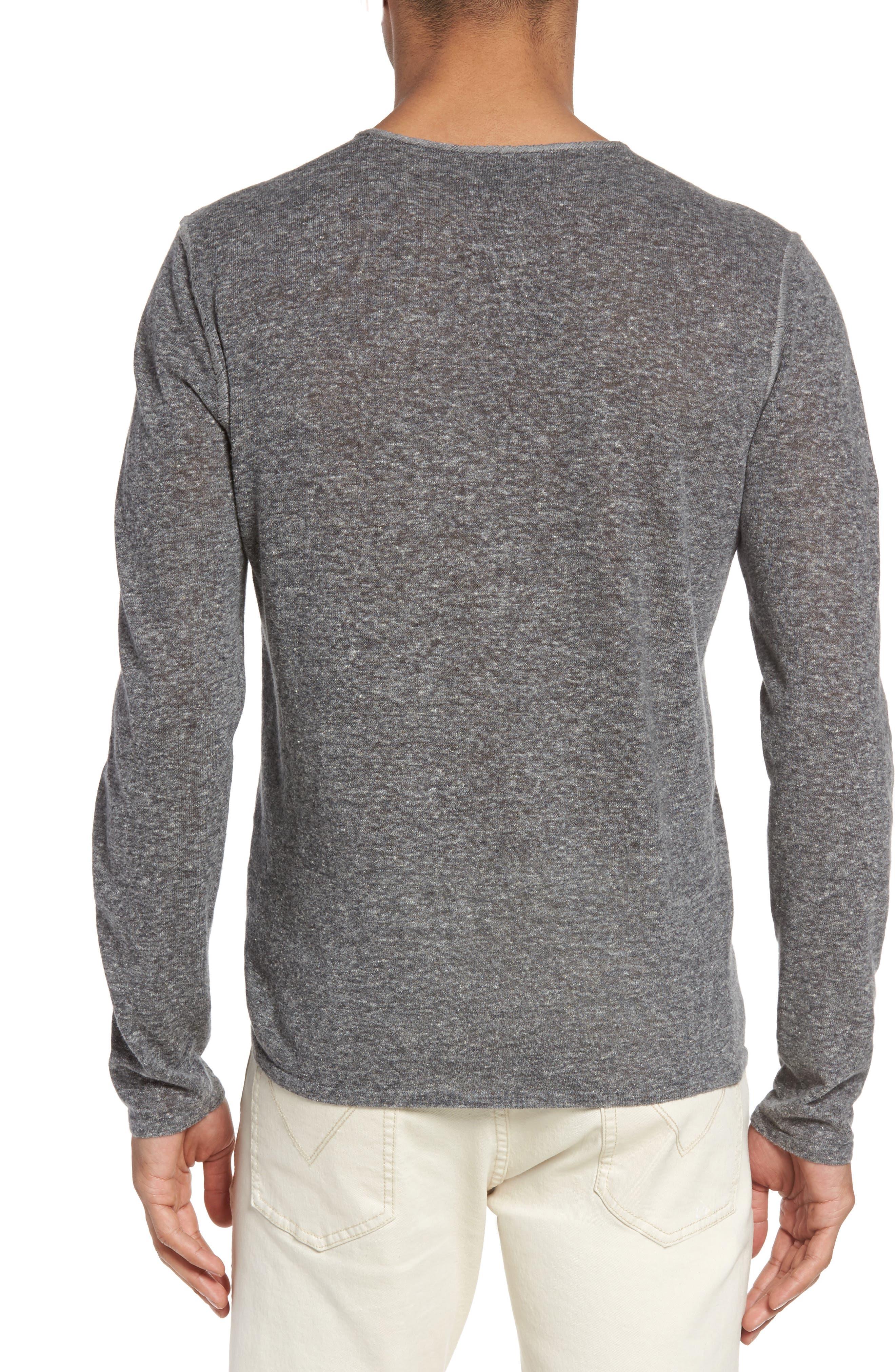 Crewneck Sweater,                             Alternate thumbnail 2, color,                             Medium Grey