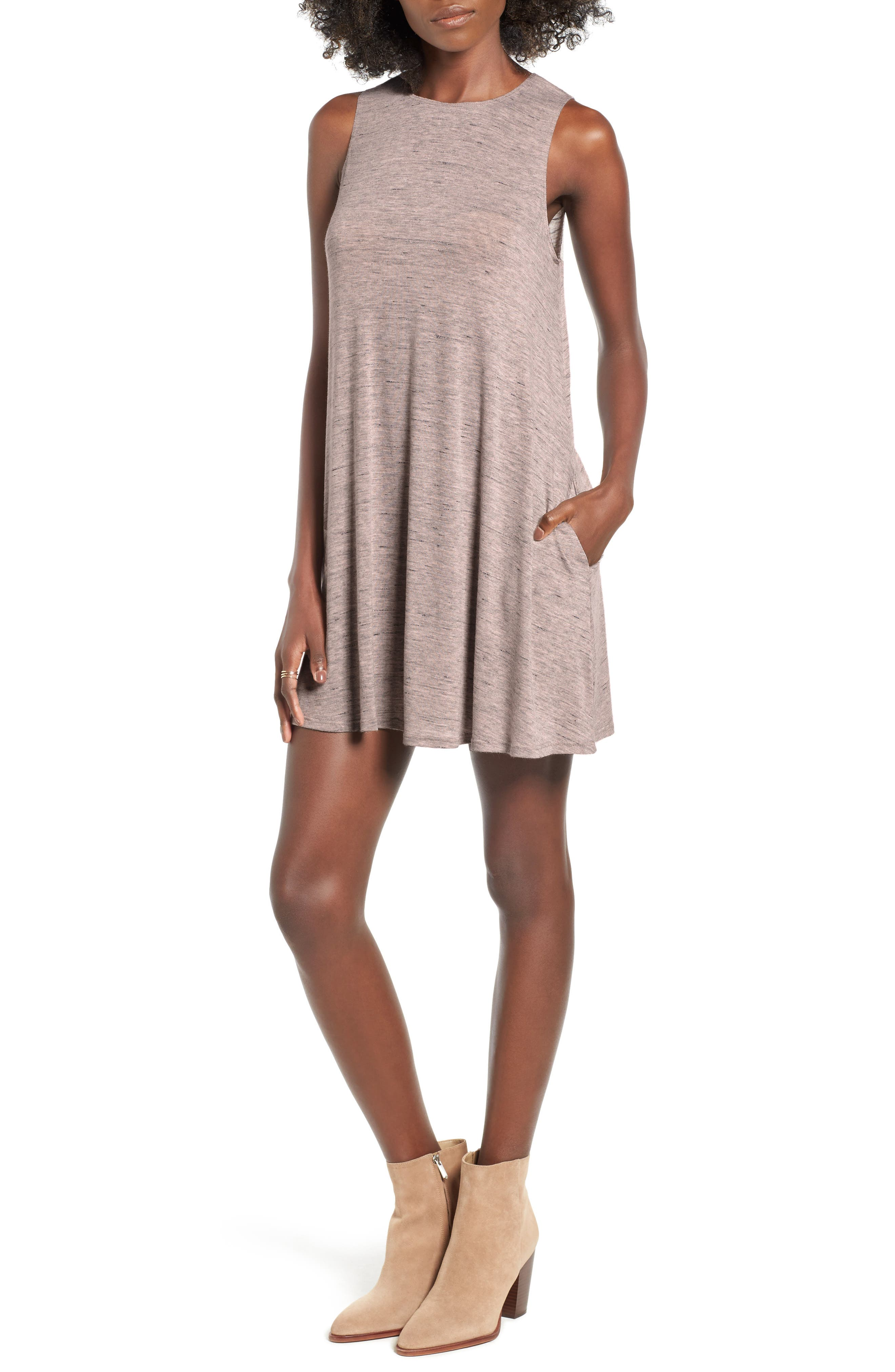 Main Image - Socialite High Neck Dress