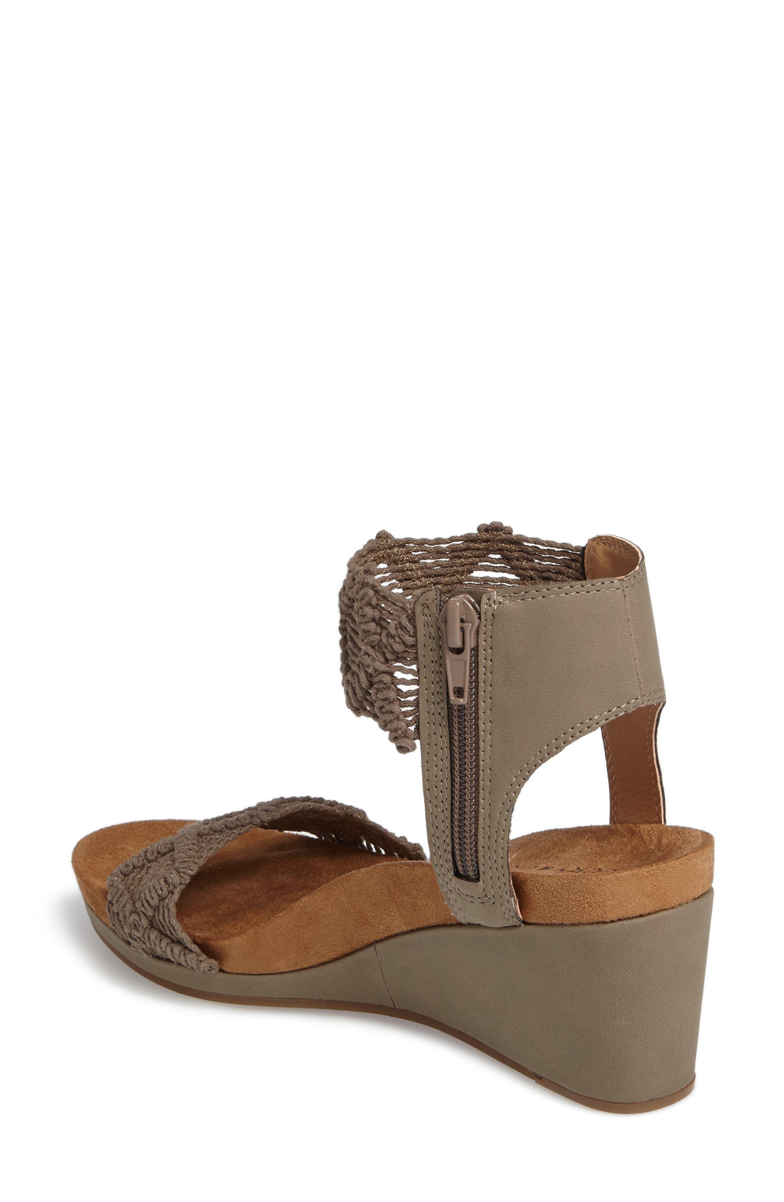 Alternate Image 2  - Lucky Brand Kierlo Wedge Sandal (Women)