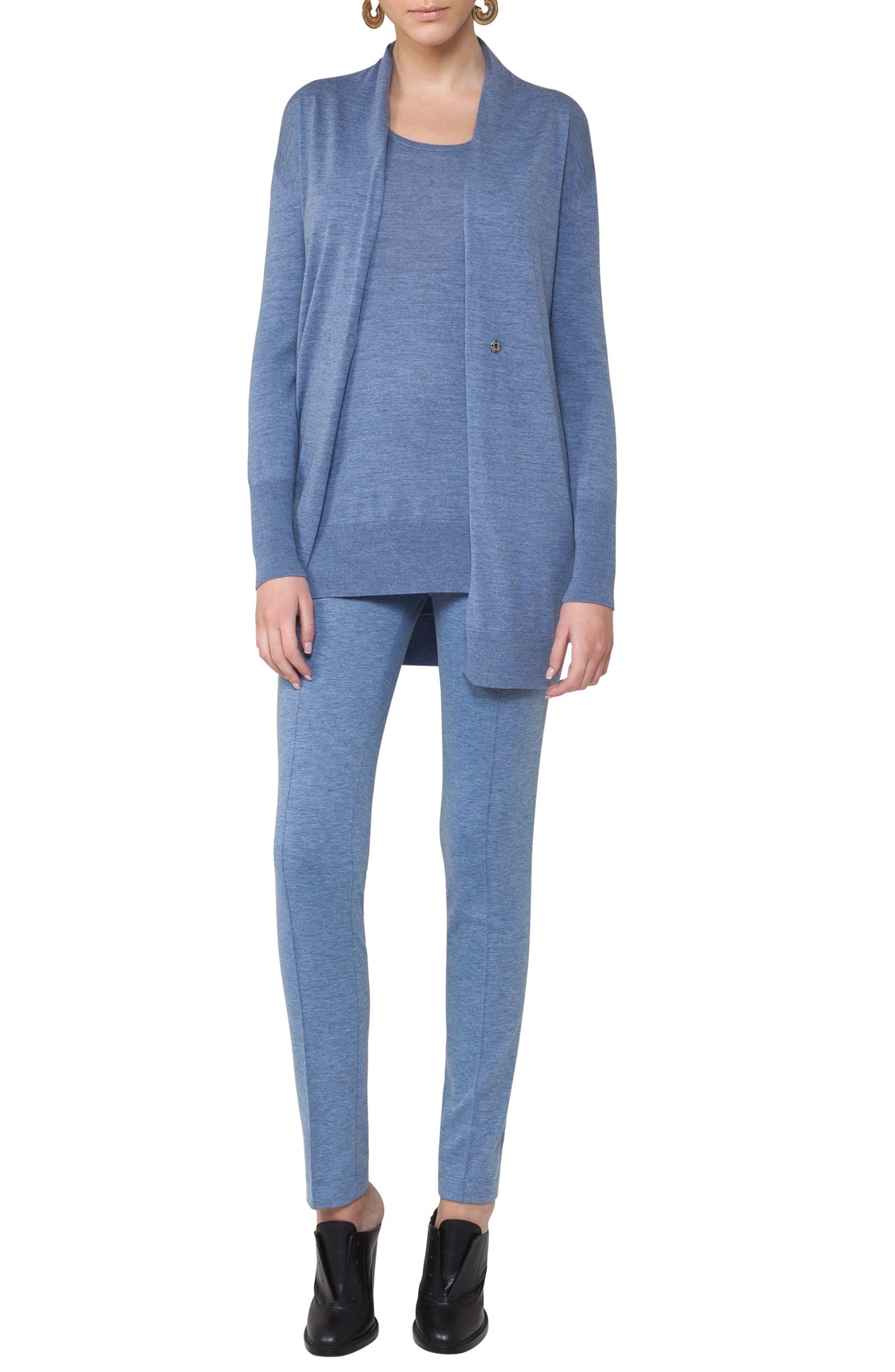 Alternate Image 3  - Akris punto Long Wool Cardigan
