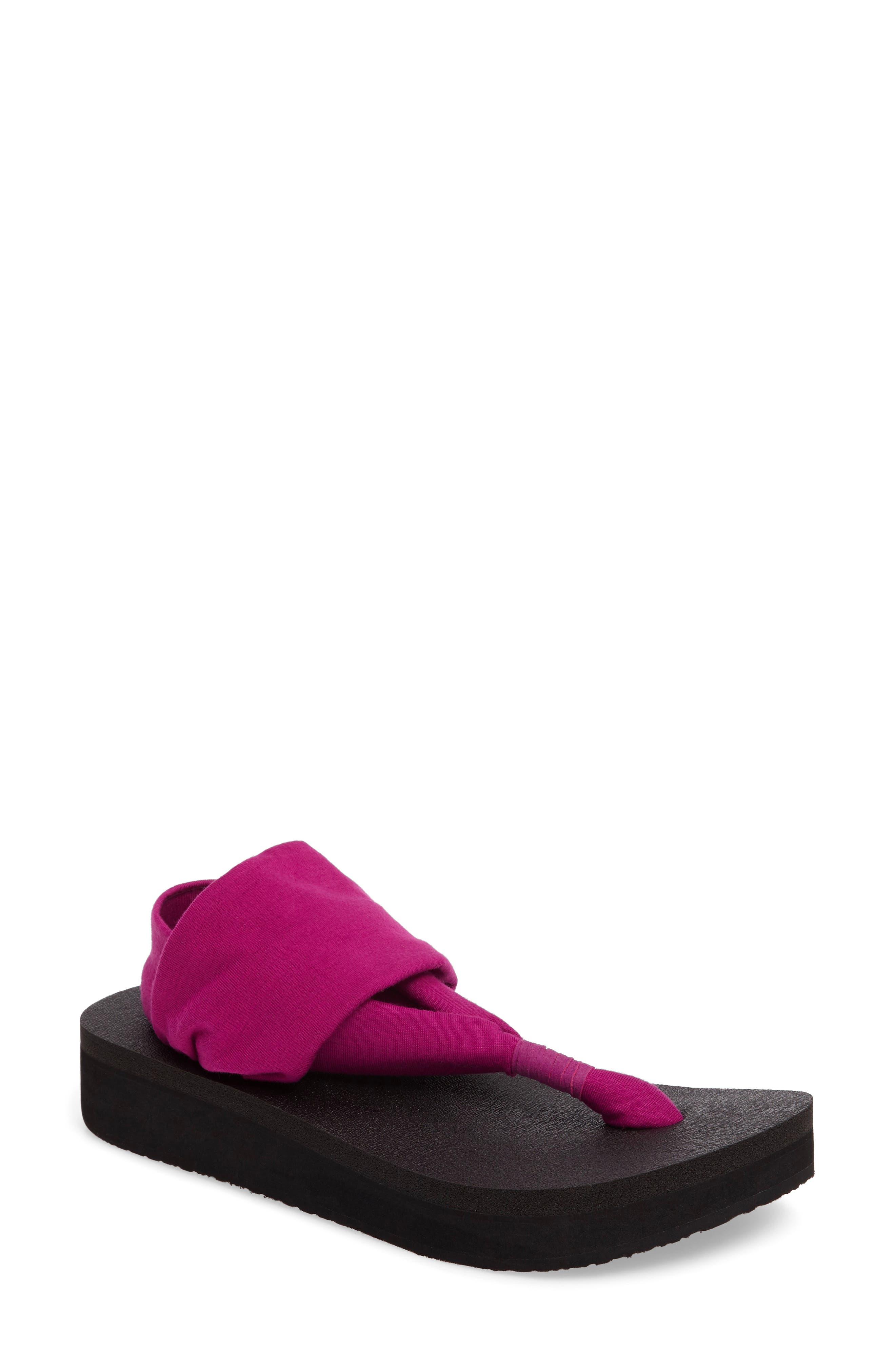 Sanuk Yoga Sling Platform Sandal (Women)