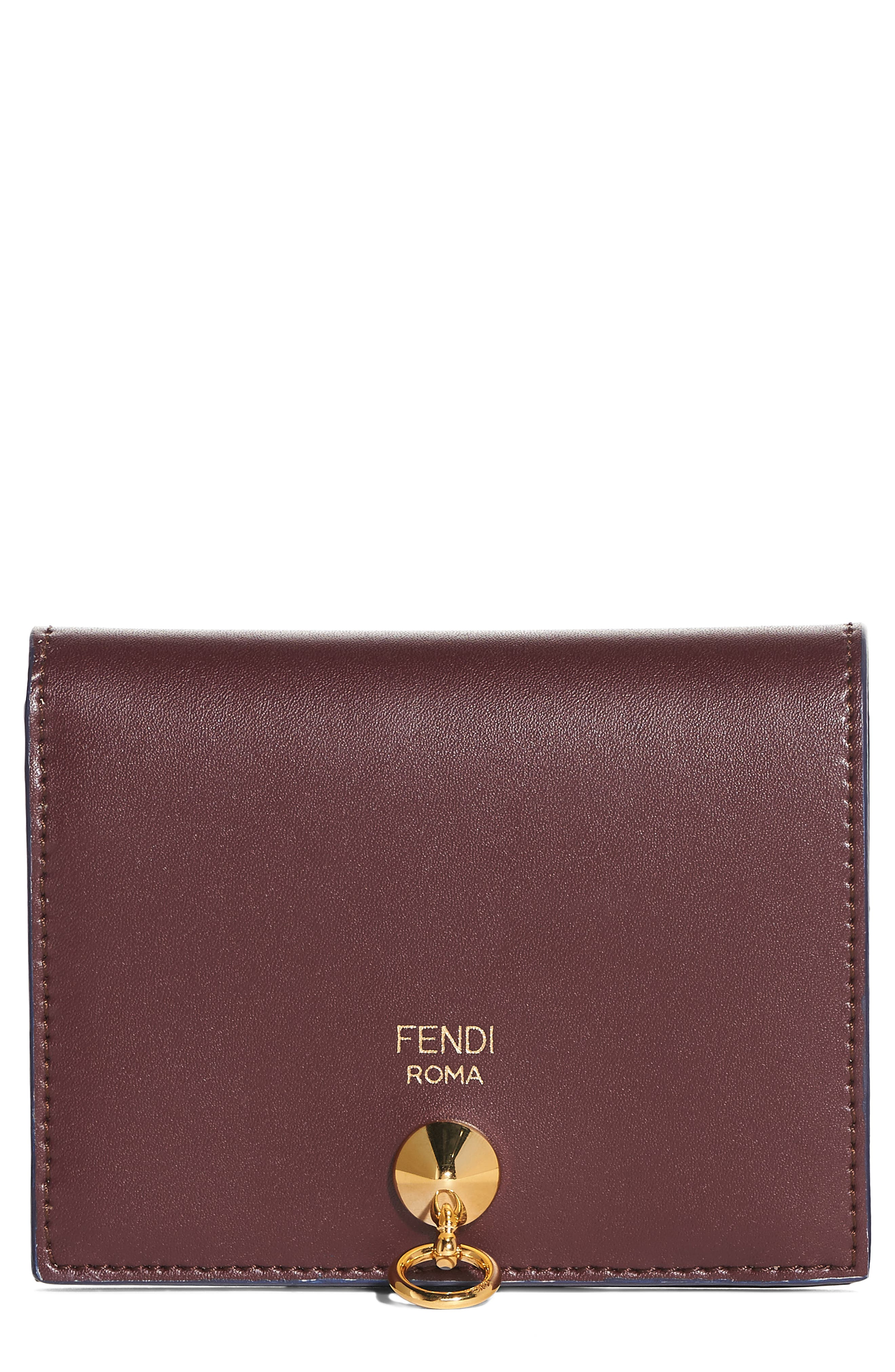 Fendi Small Leather French Wallet